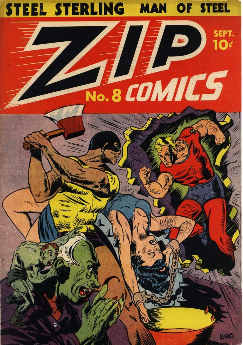 Zip Comics 8 Page 1