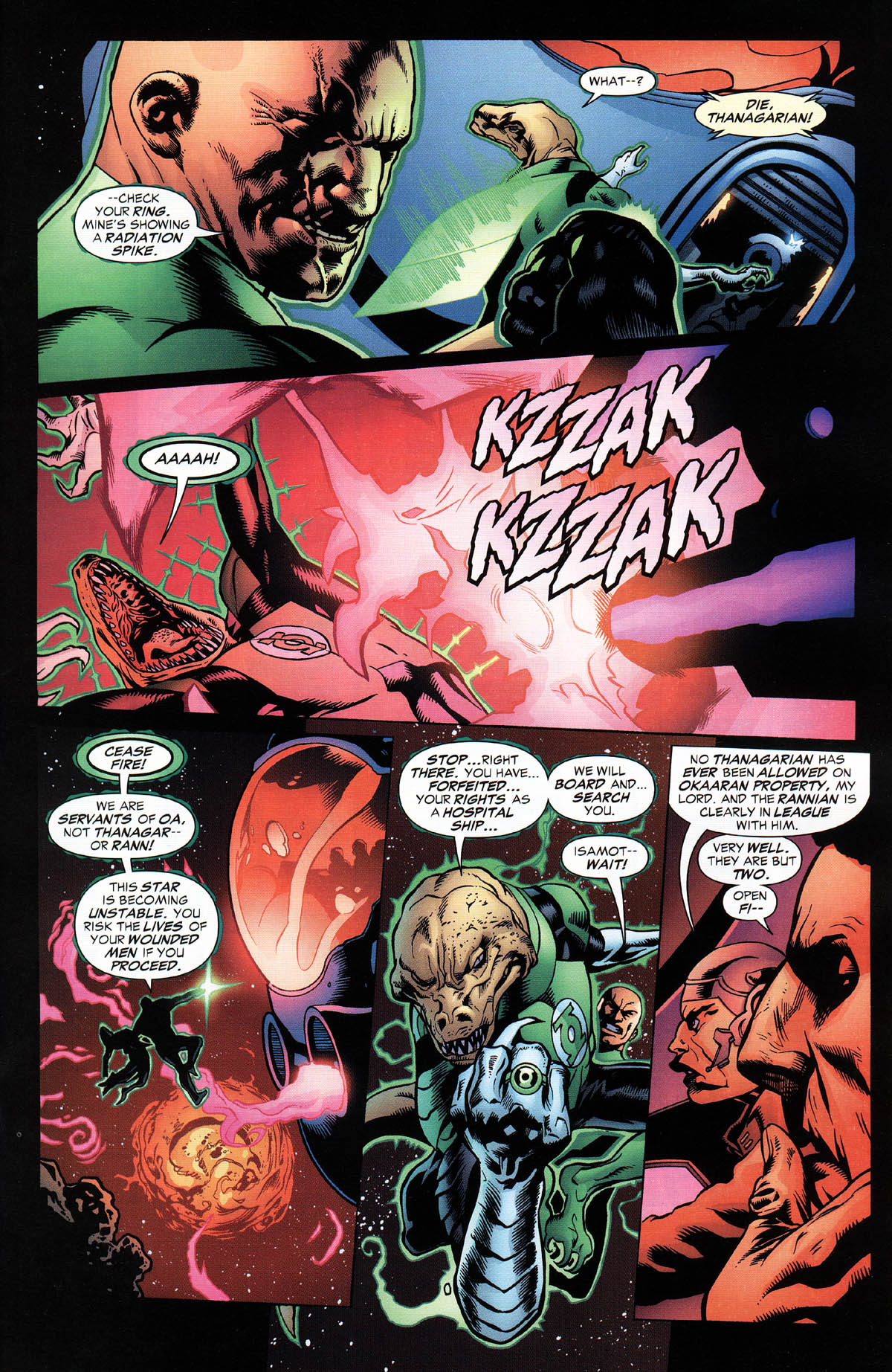 Read online Green Lantern Corps: Recharge comic -  Issue #2 - 12