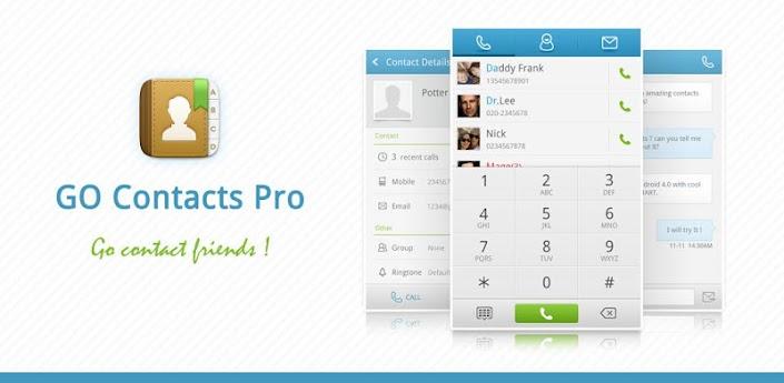 GO Contacts Pro Apk v1.2