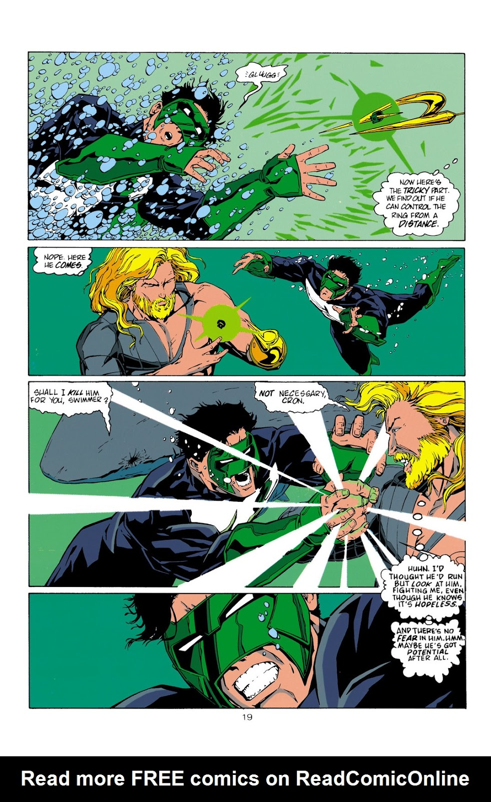 Aquaman (1994) Issue #10 #16 - English 20