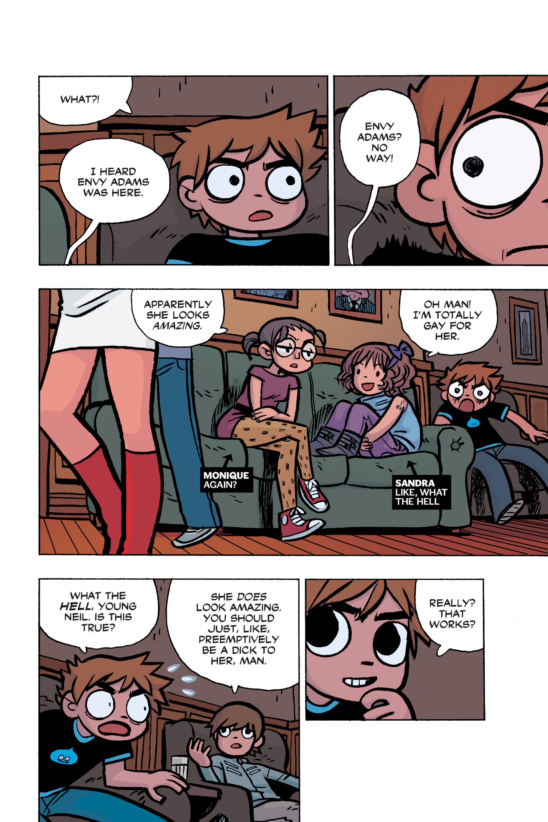 Read online Scott Pilgrim comic -  Issue #6 - 41
