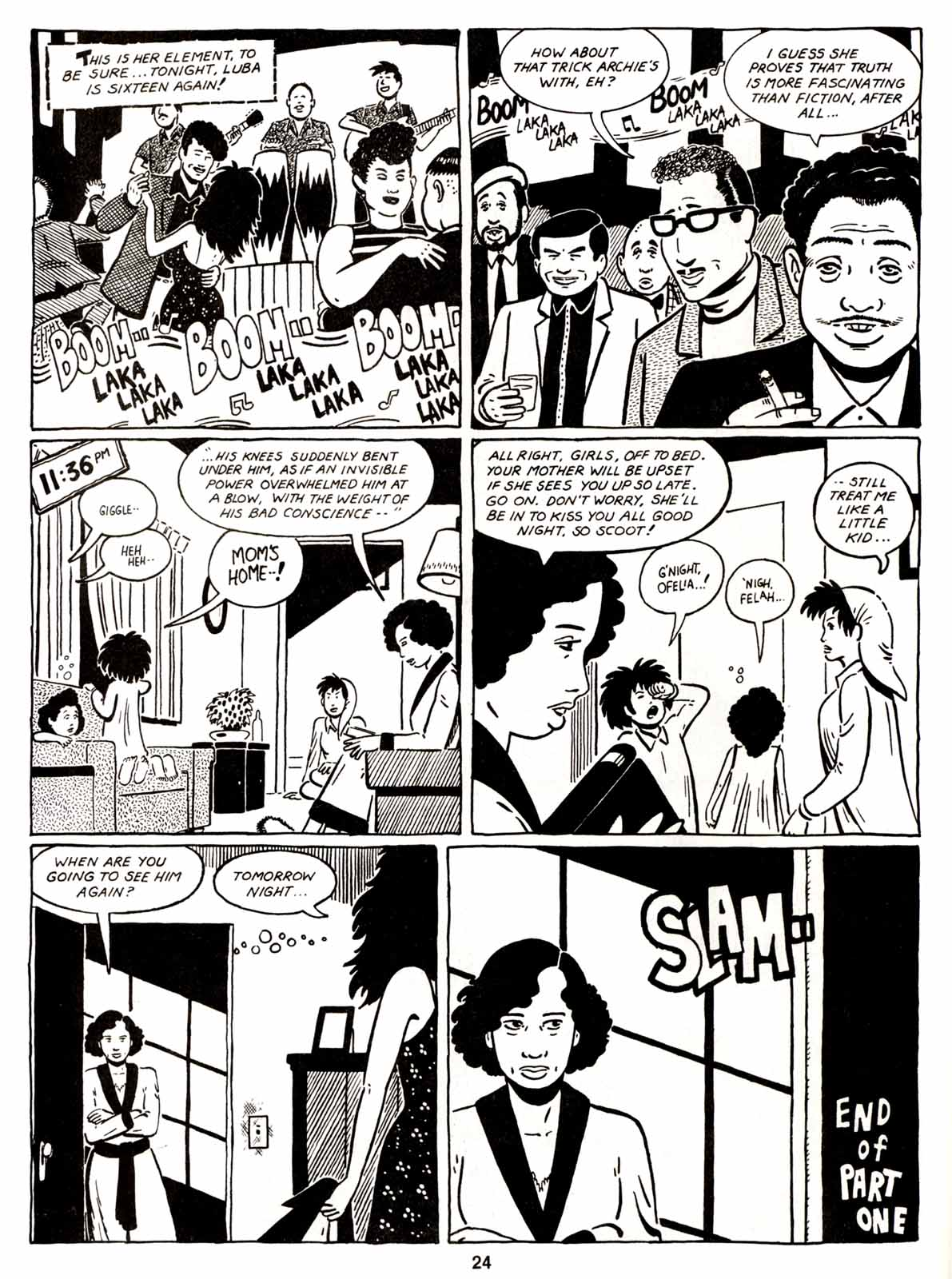 Love and Rockets (1982) Issue #5 #4 - English 26