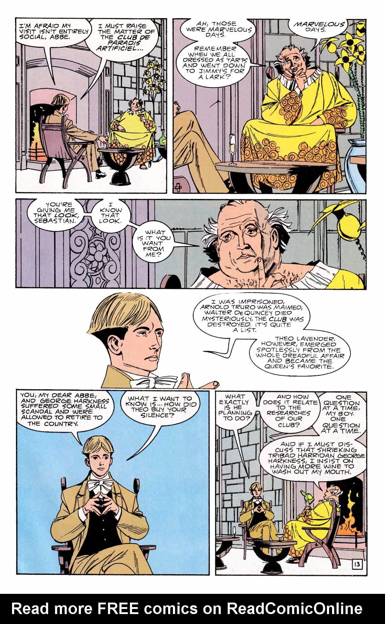 Read online Sebastian O comic -  Issue #2 - 17