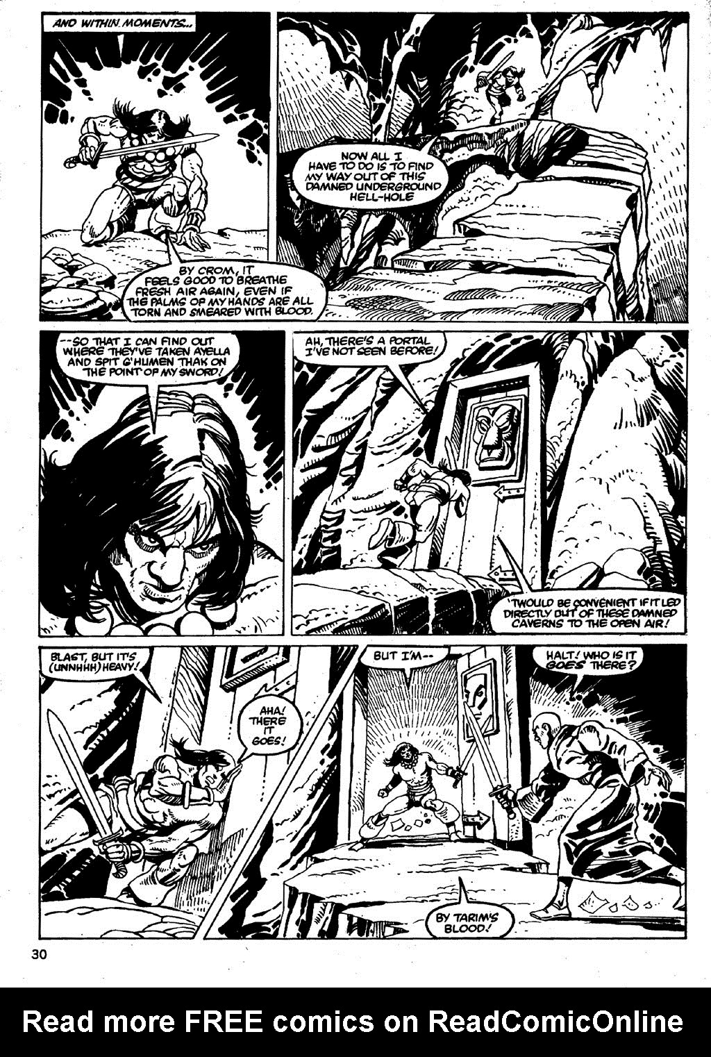 The Savage Sword Of Conan Issue #86 #87 - English 30