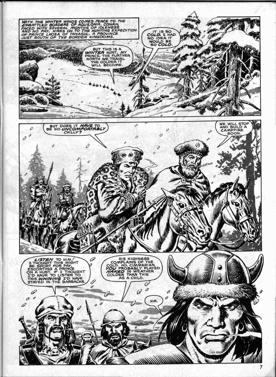 The Savage Sword Of Conan Issue #133 #134 - English 6