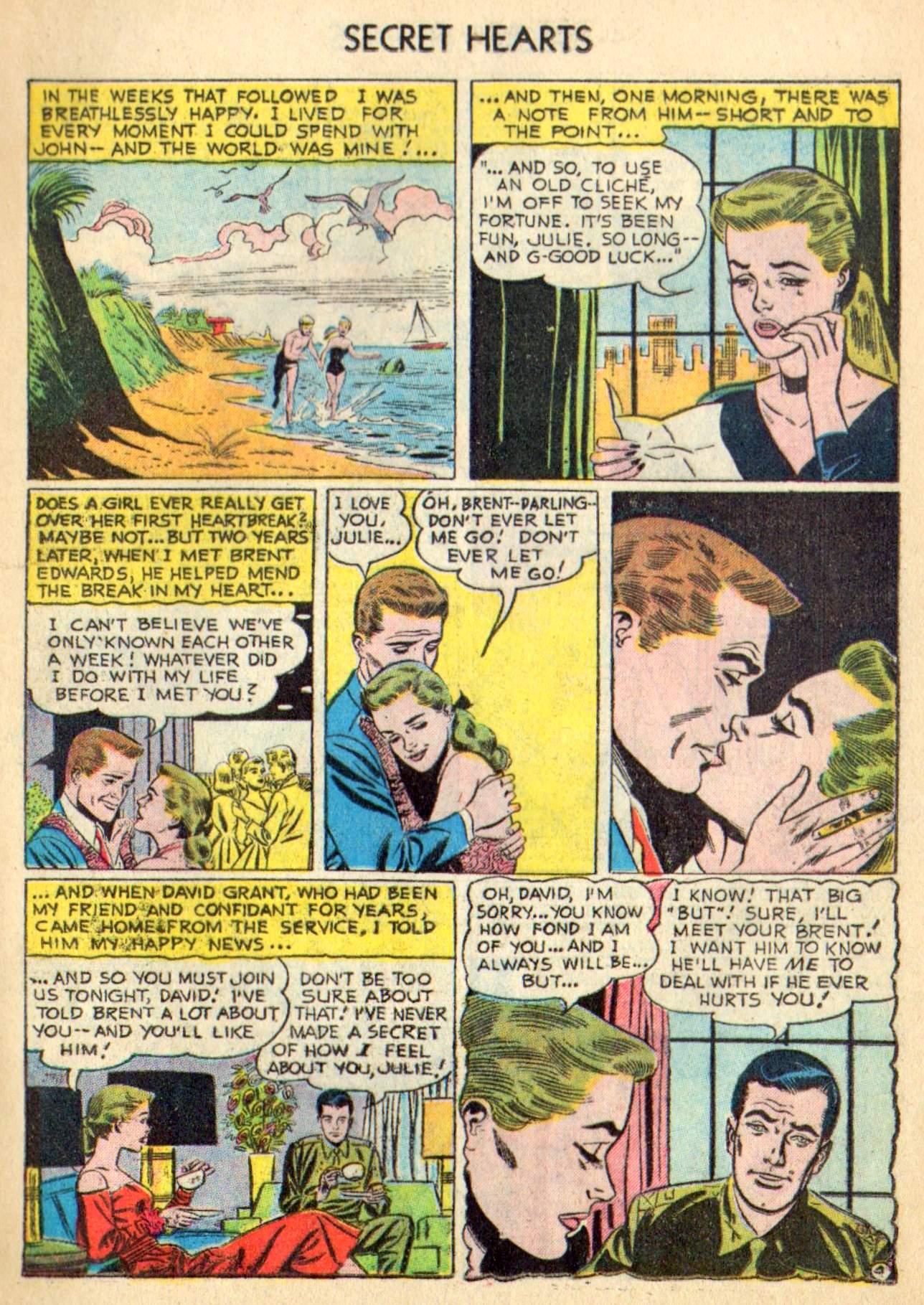 Read online Secret Hearts comic -  Issue #31 - 13