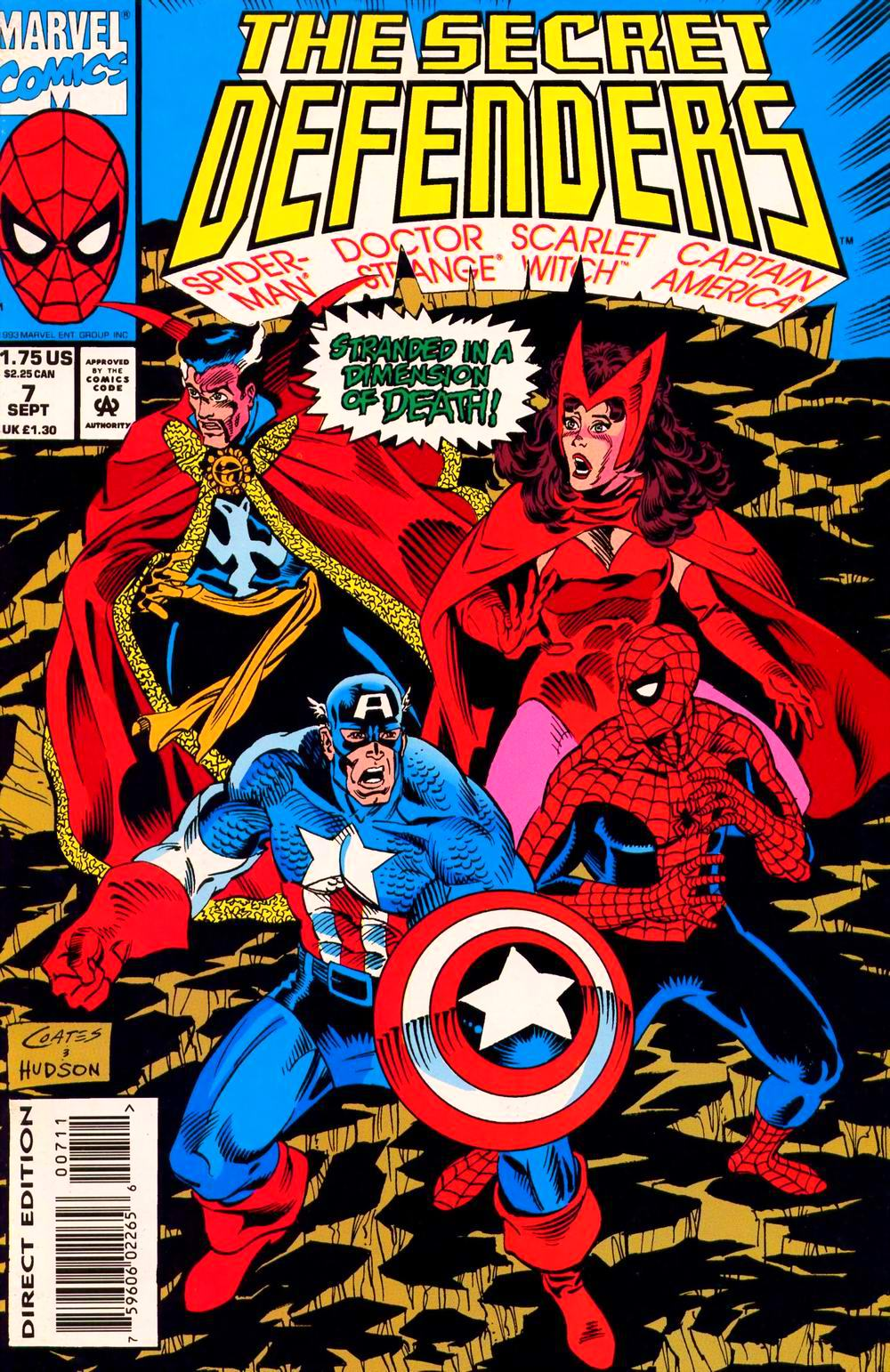 Read online Secret Defenders comic -  Issue #7 - 1