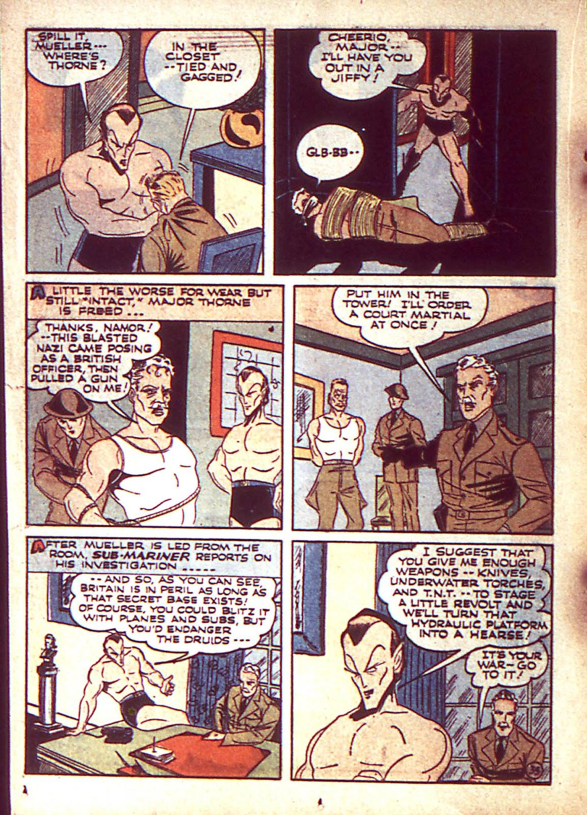Sub-Mariner Comics Issue #3 #3 - English 37
