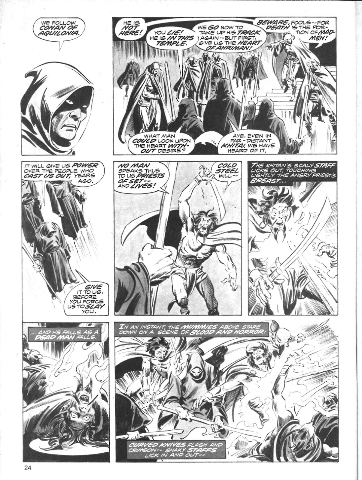 The Savage Sword Of Conan Issue #10 #11 - English 22