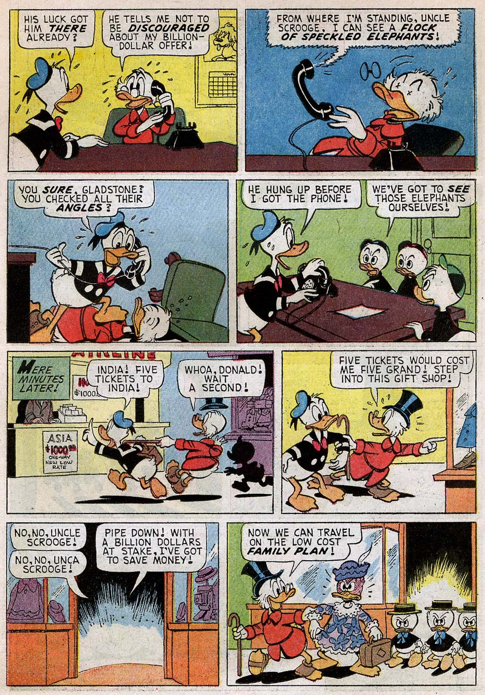 Uncle Scrooge (1953) Issue #54 #54 - English 10