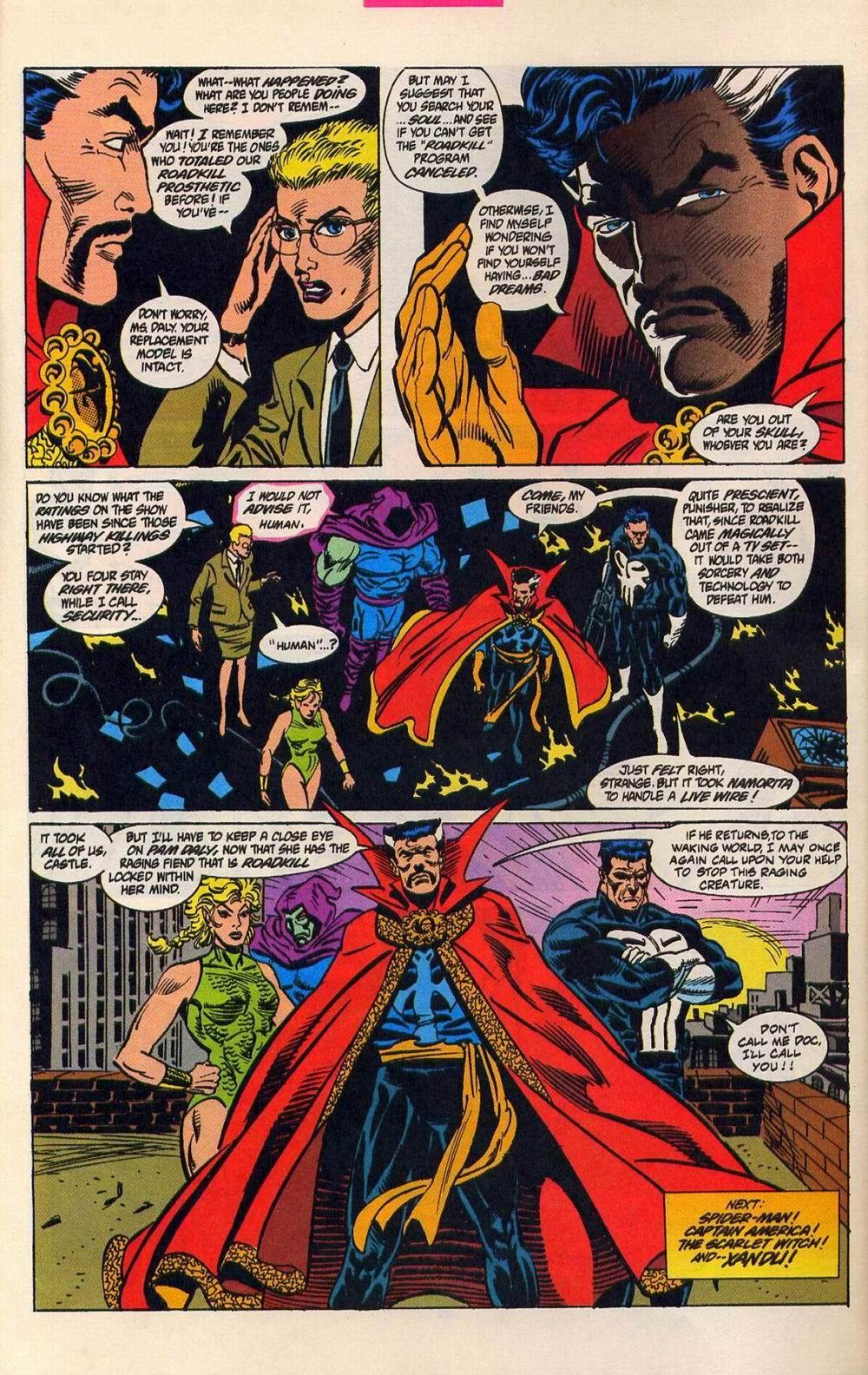 Read online Secret Defenders comic -  Issue #5 - 23