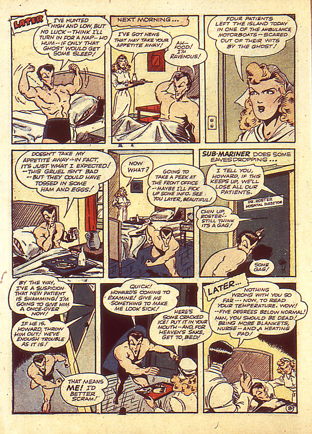 Sub-Mariner Comics Issue #4 #4 - English 11