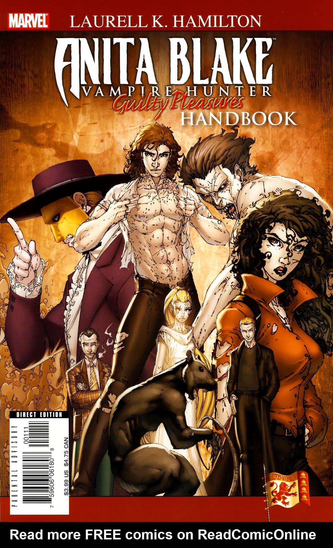 Anita Blake, Vampire Hunter: Guilty Pleasures Handbook Full Page 1