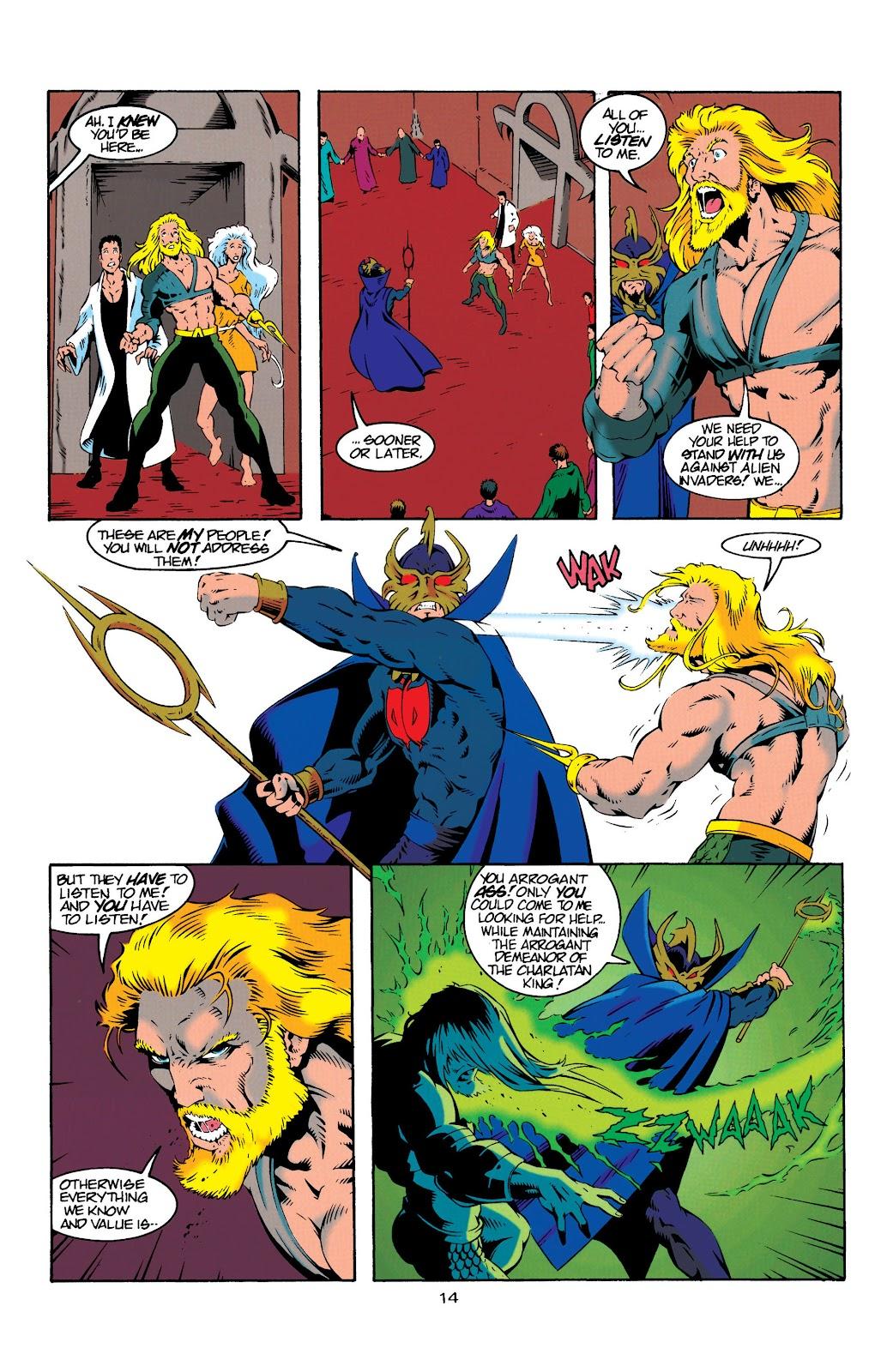 Aquaman (1994) Issue #20 #26 - English 14