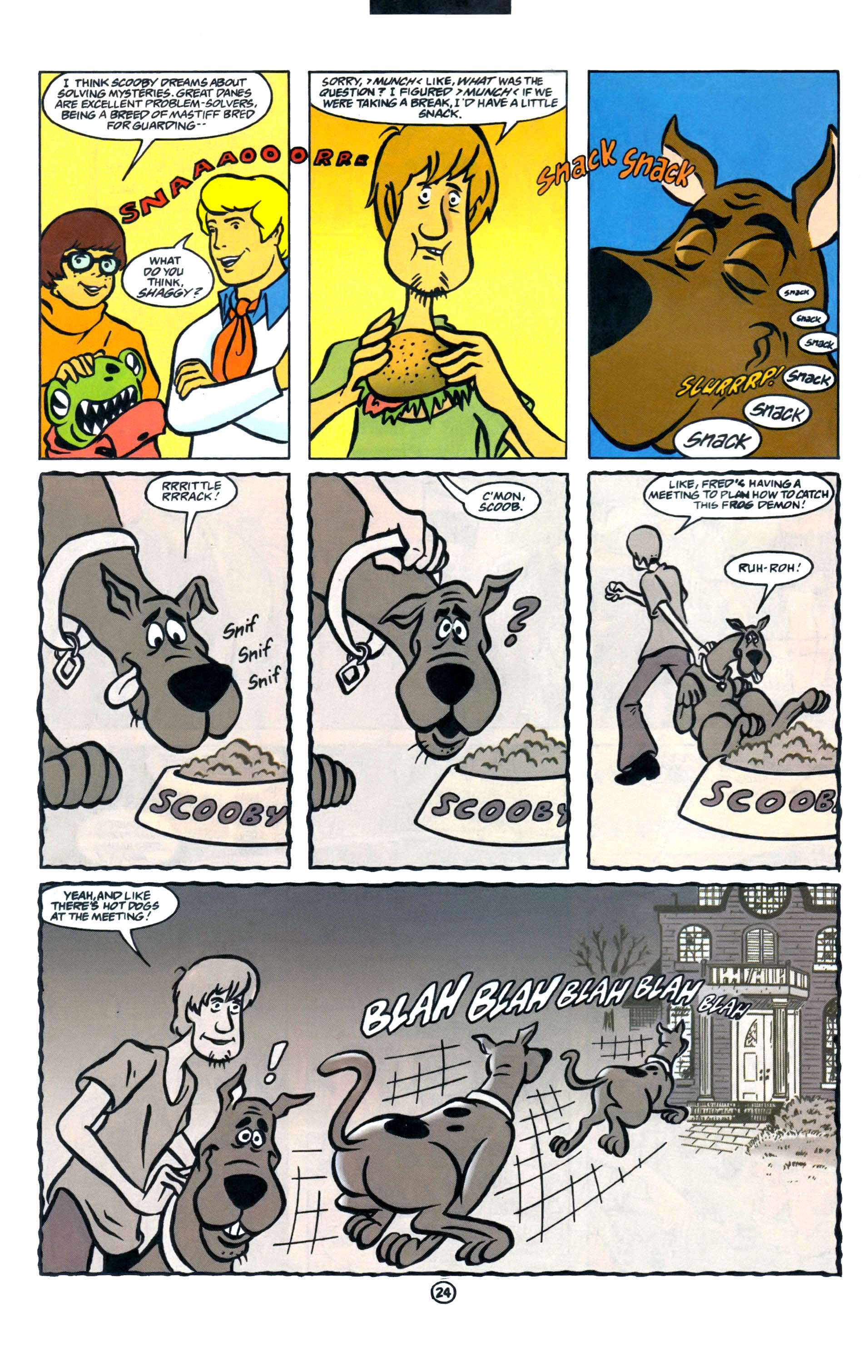 Read online Scooby-Doo (1997) comic -  Issue #1 - 19
