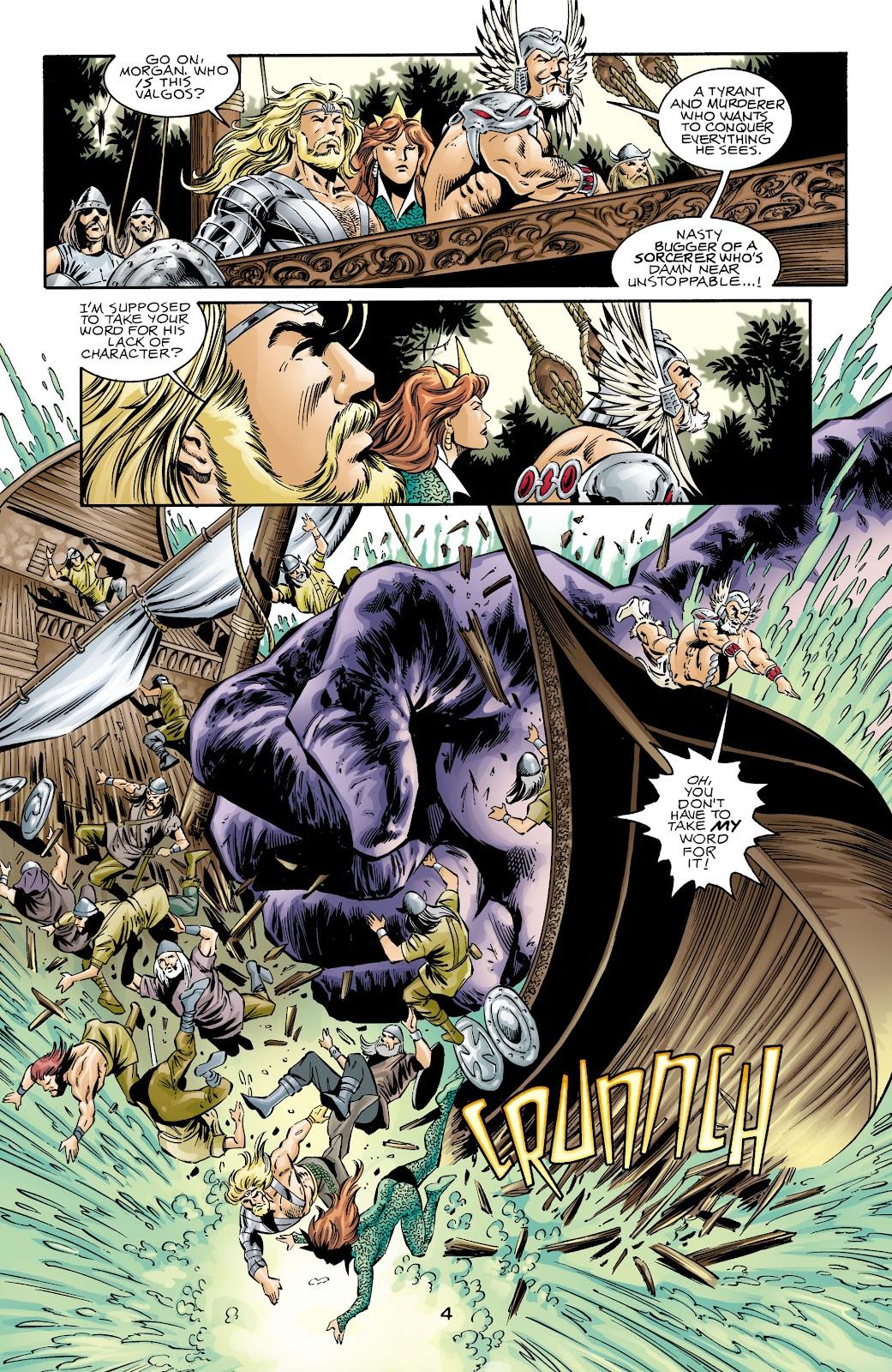 Aquaman (1994) Issue #72 #78 - English 4