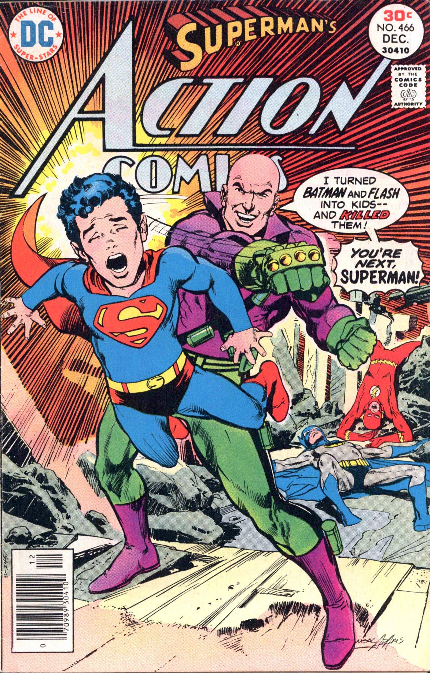 Action Comics (1938) 466 Page 1