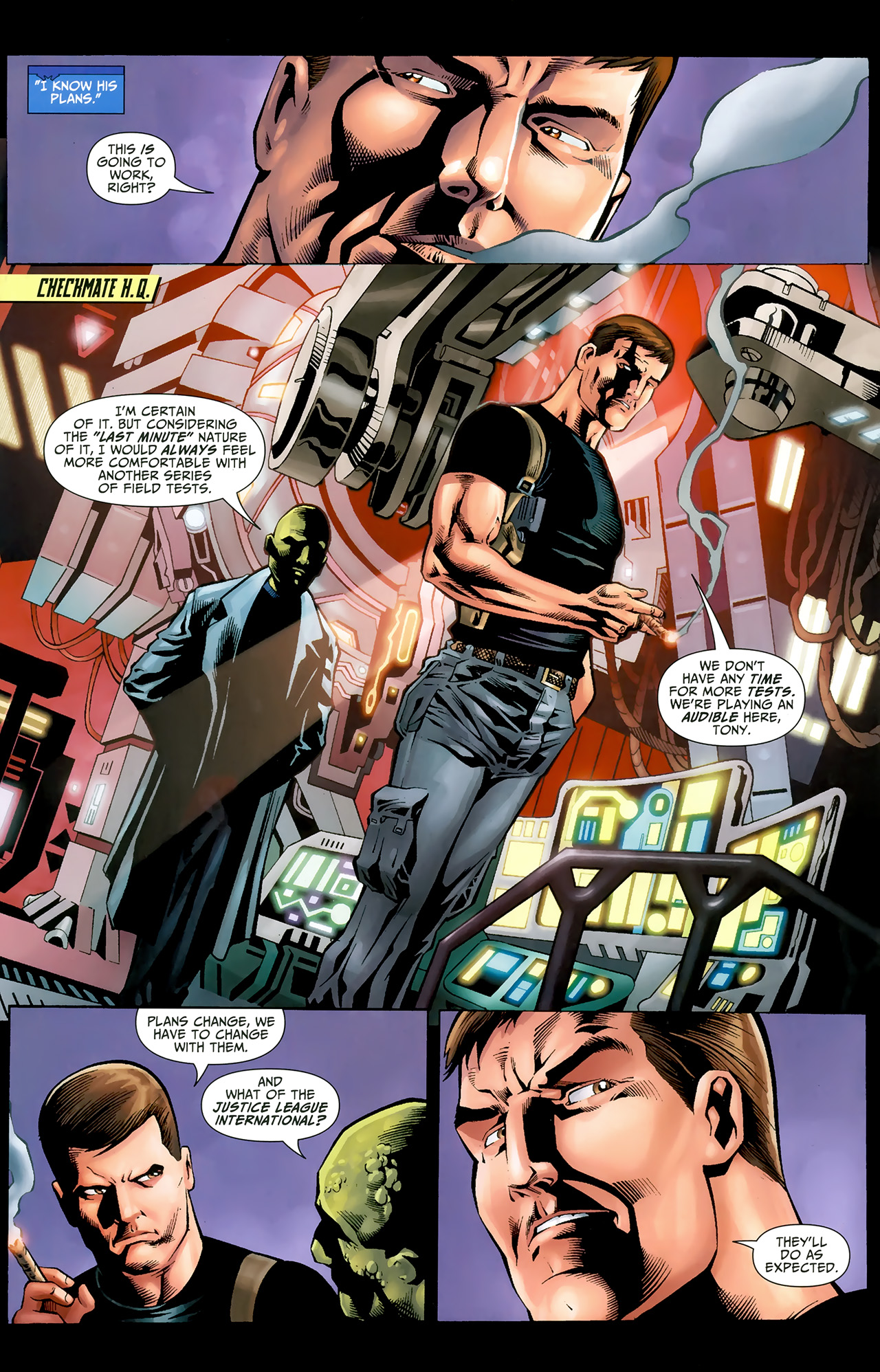 Read online Justice League: Generation Lost comic -  Issue #22 - 7
