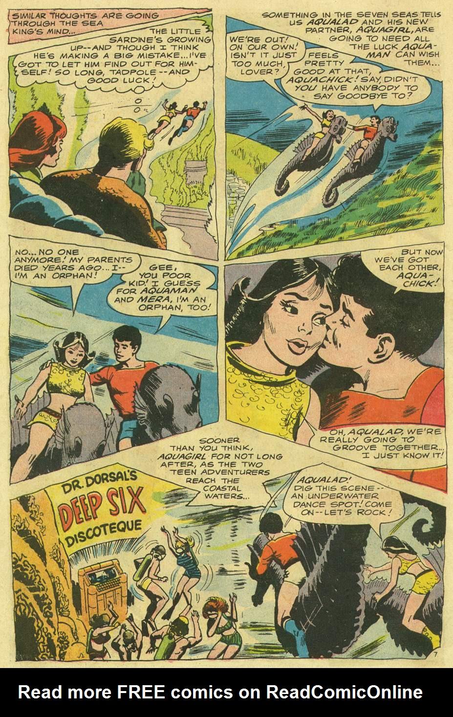 Aquaman (1962) Issue #33 #33 - English 10
