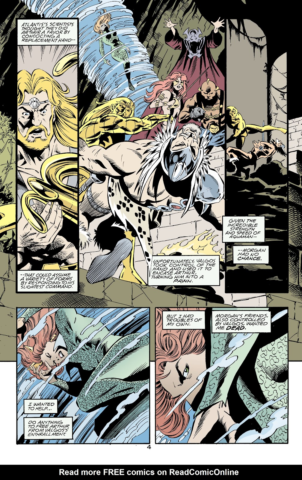 Aquaman (1994) Issue #73 #79 - English 4
