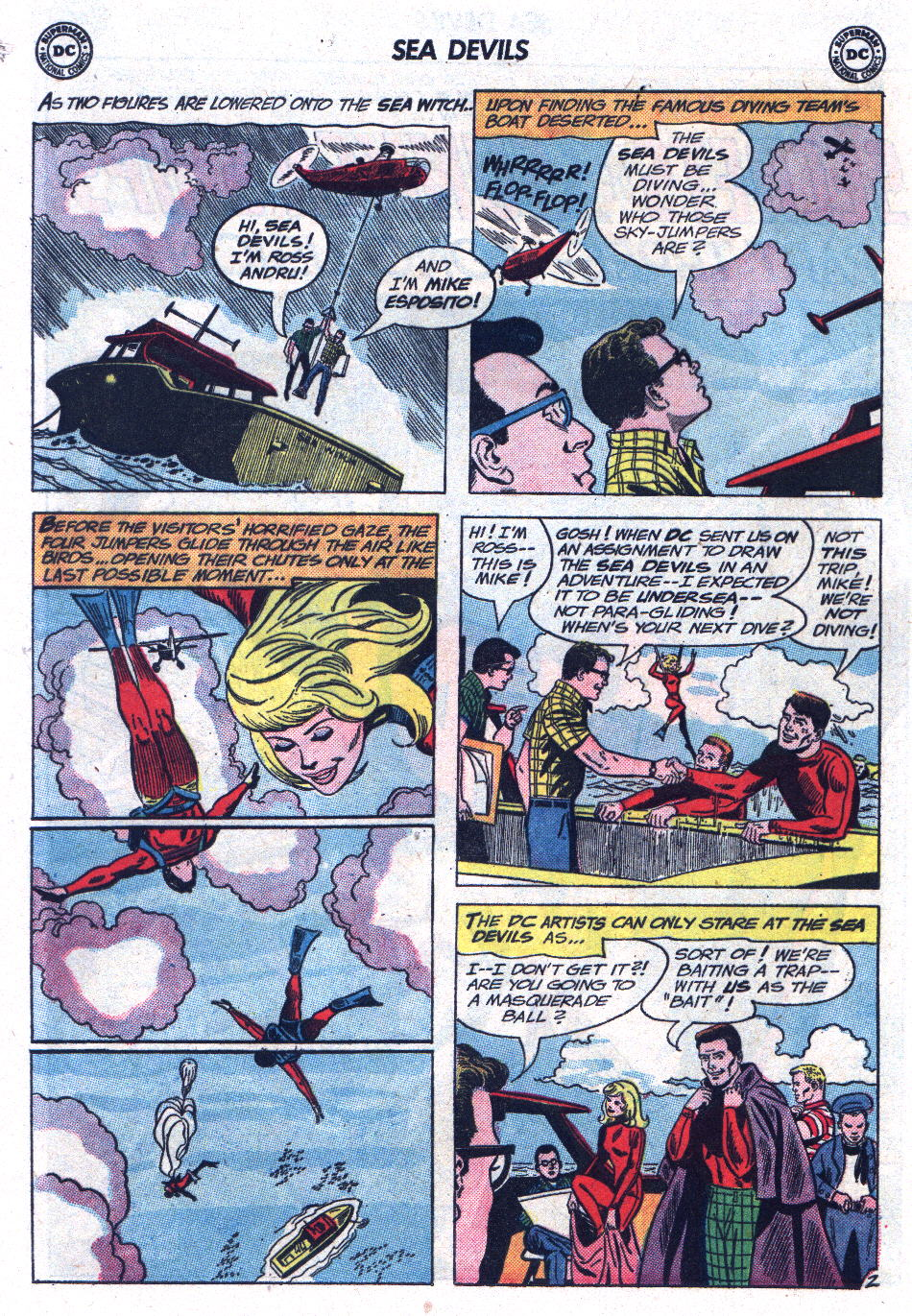 Read online Sea Devils comic -  Issue #13 - 24