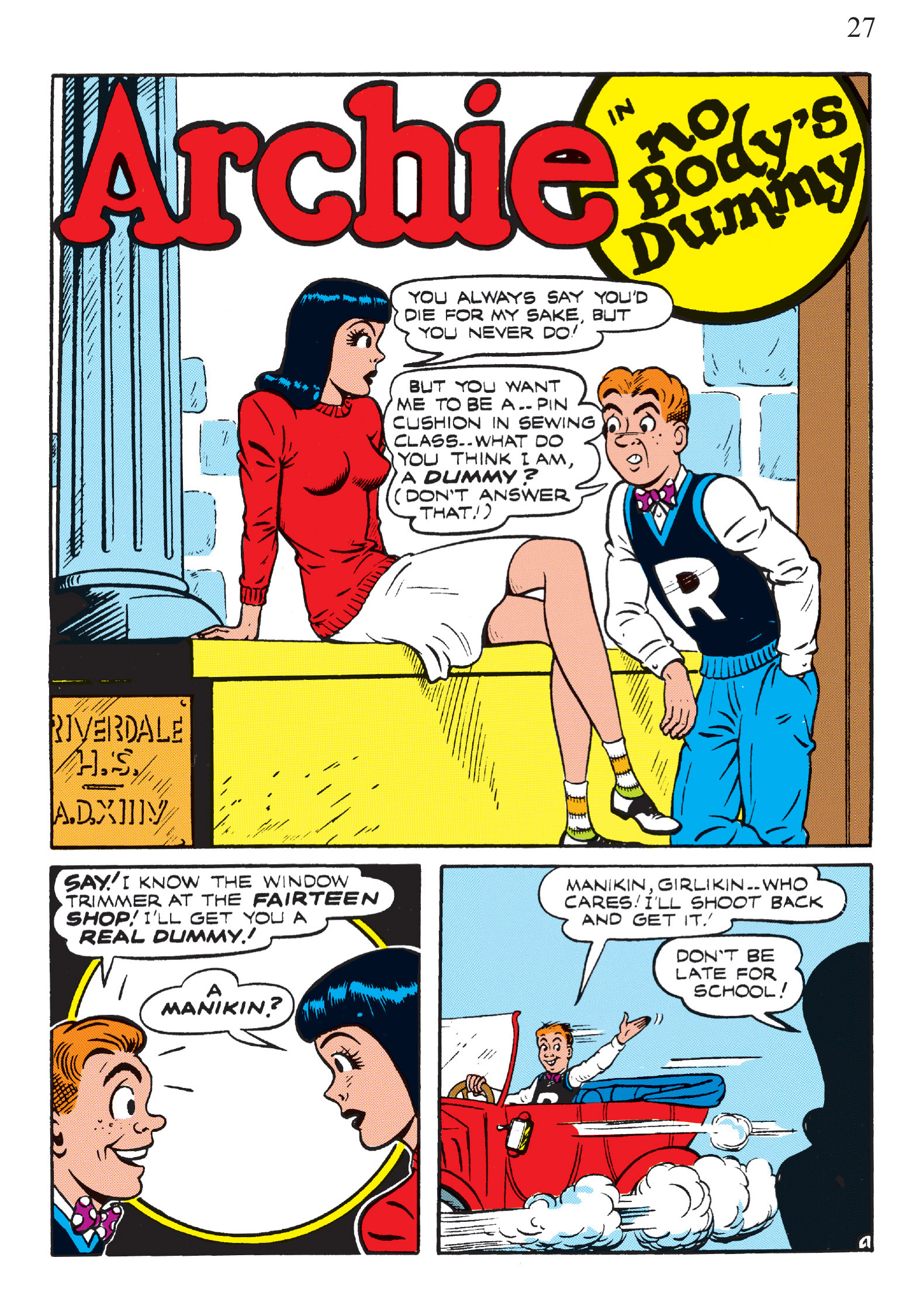 Read online The Best of Archie Comics comic -  Issue # TPB 2 (Part 1) - 29