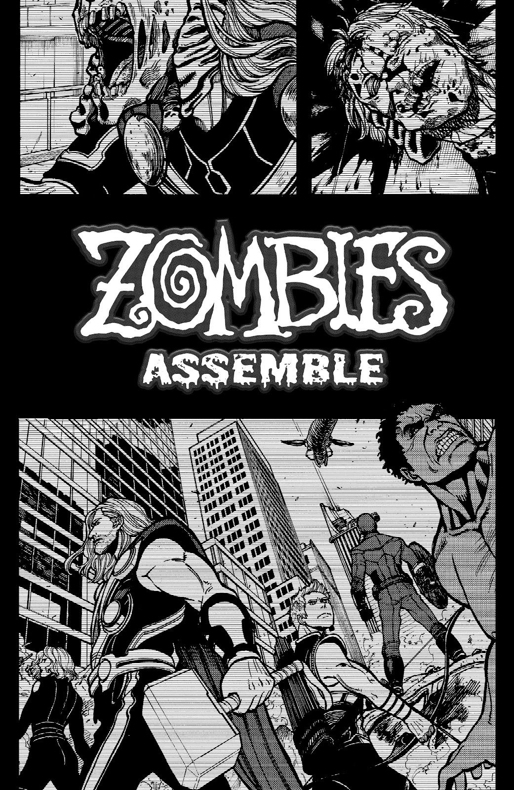 Zombies Assemble Issue #2 Page 3