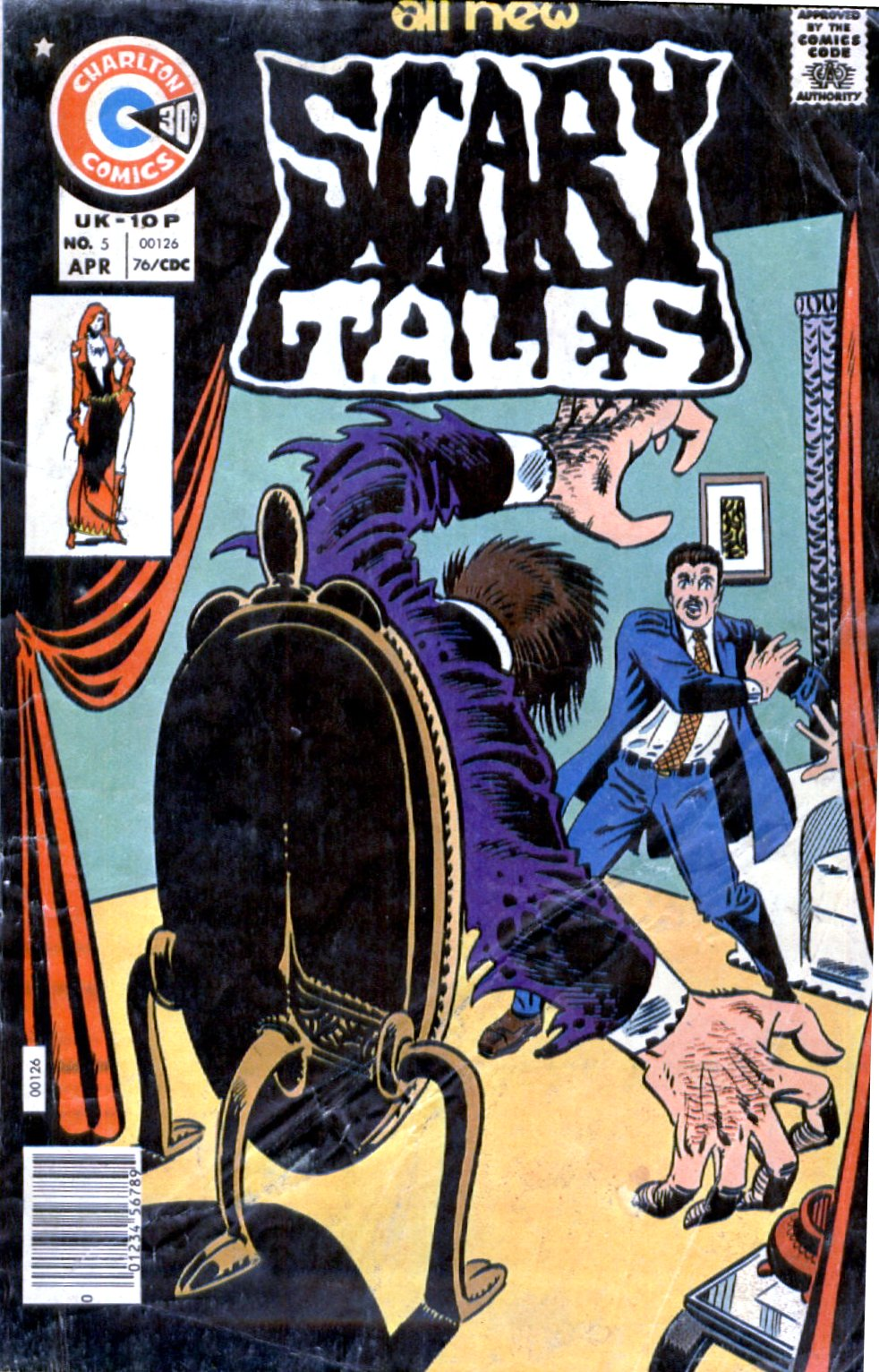 Read online Scary Tales comic -  Issue #5 - 1