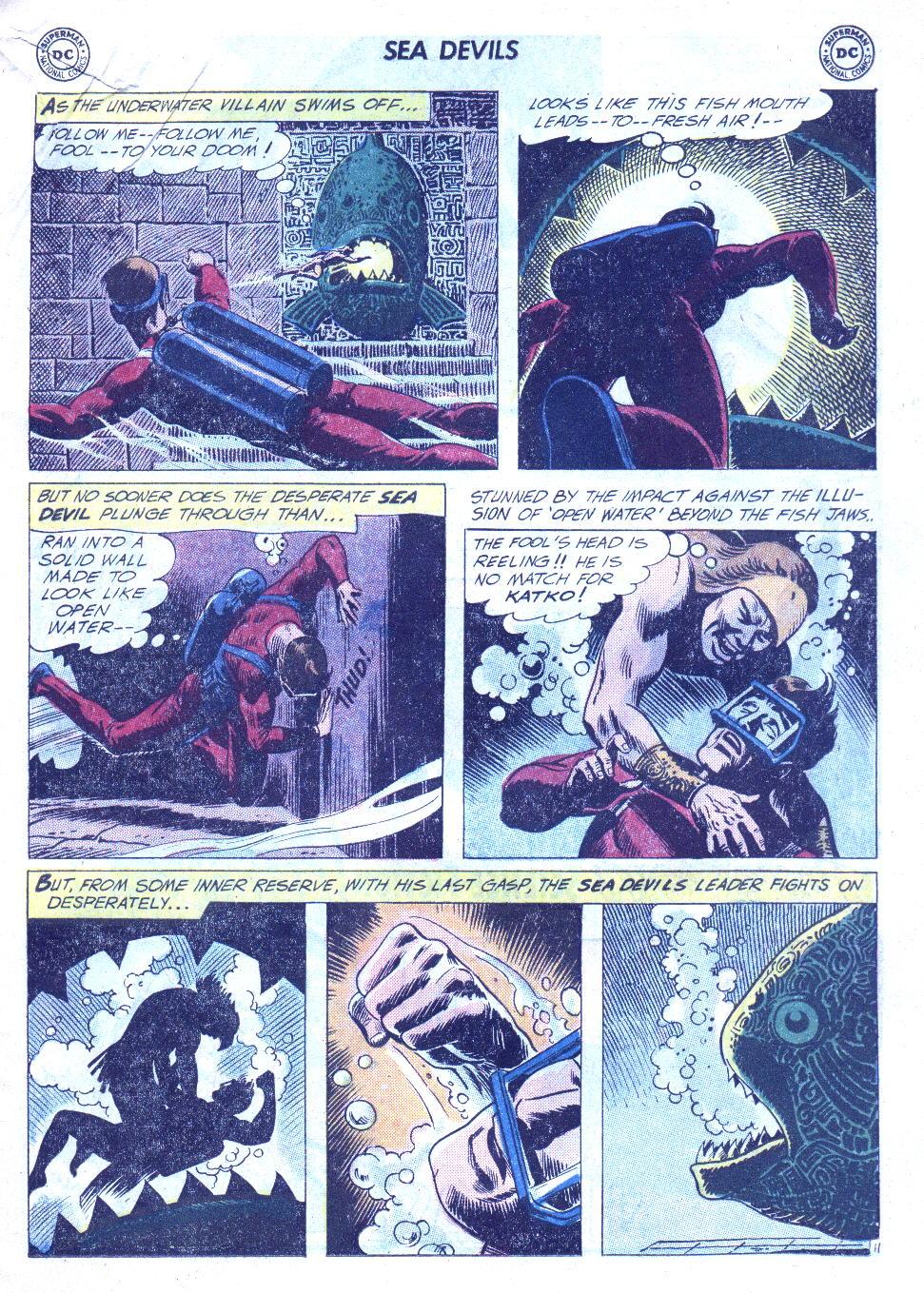 Read online Sea Devils comic -  Issue #4 - 32
