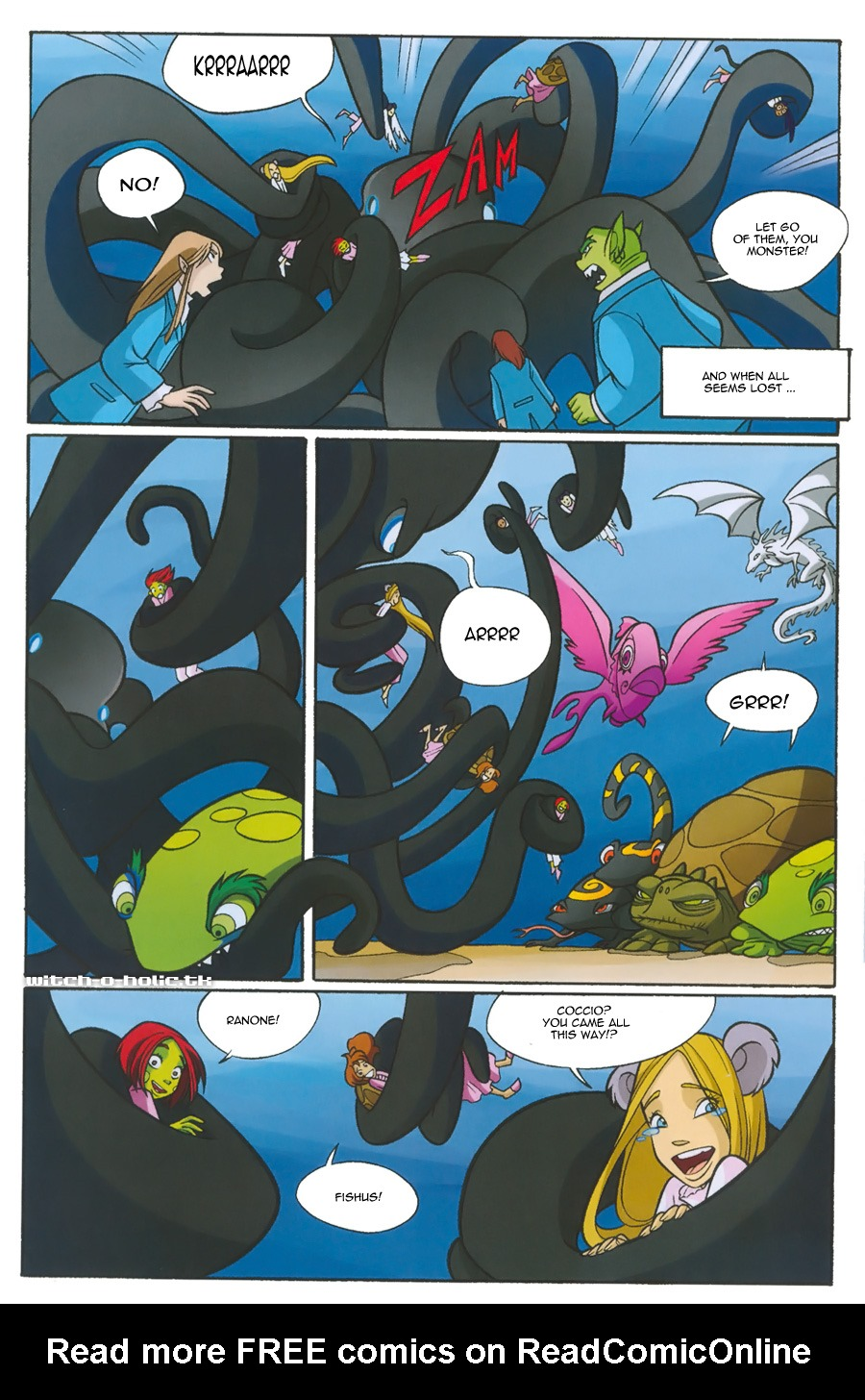 Read online W.i.t.c.h. comic -  Issue #135 - 26