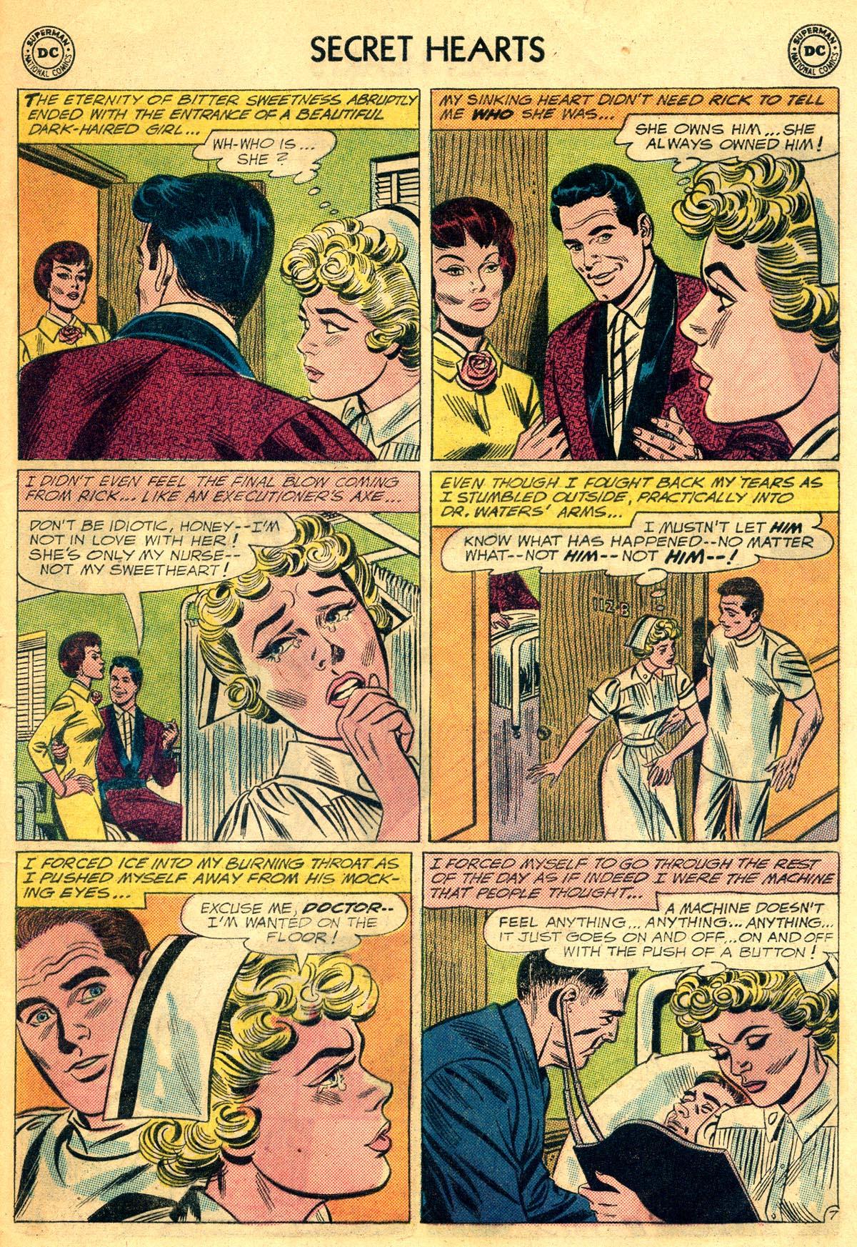 Read online Secret Hearts comic -  Issue #81 - 33