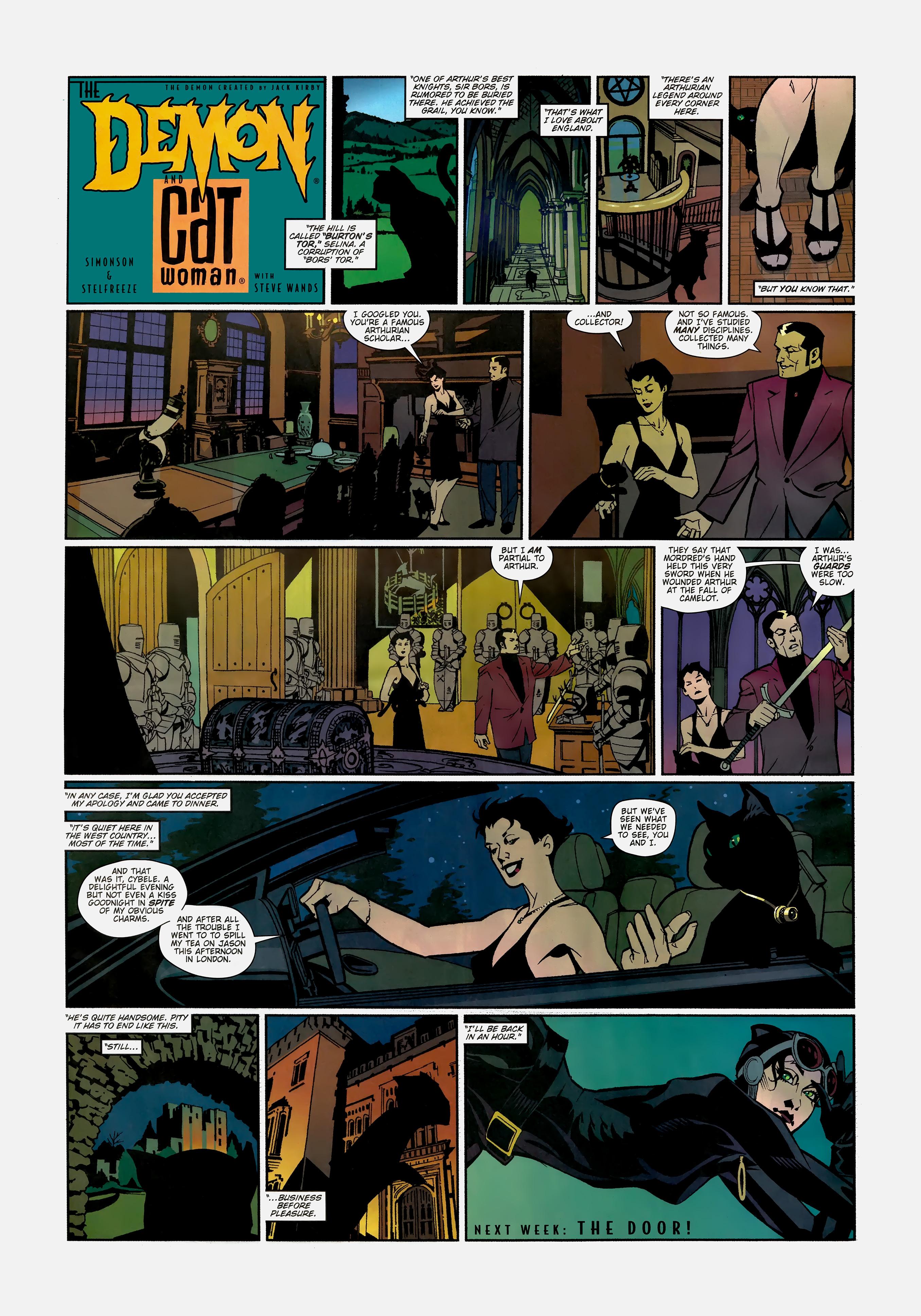 Read online Wednesday Comics comic -  Issue #1 - 16