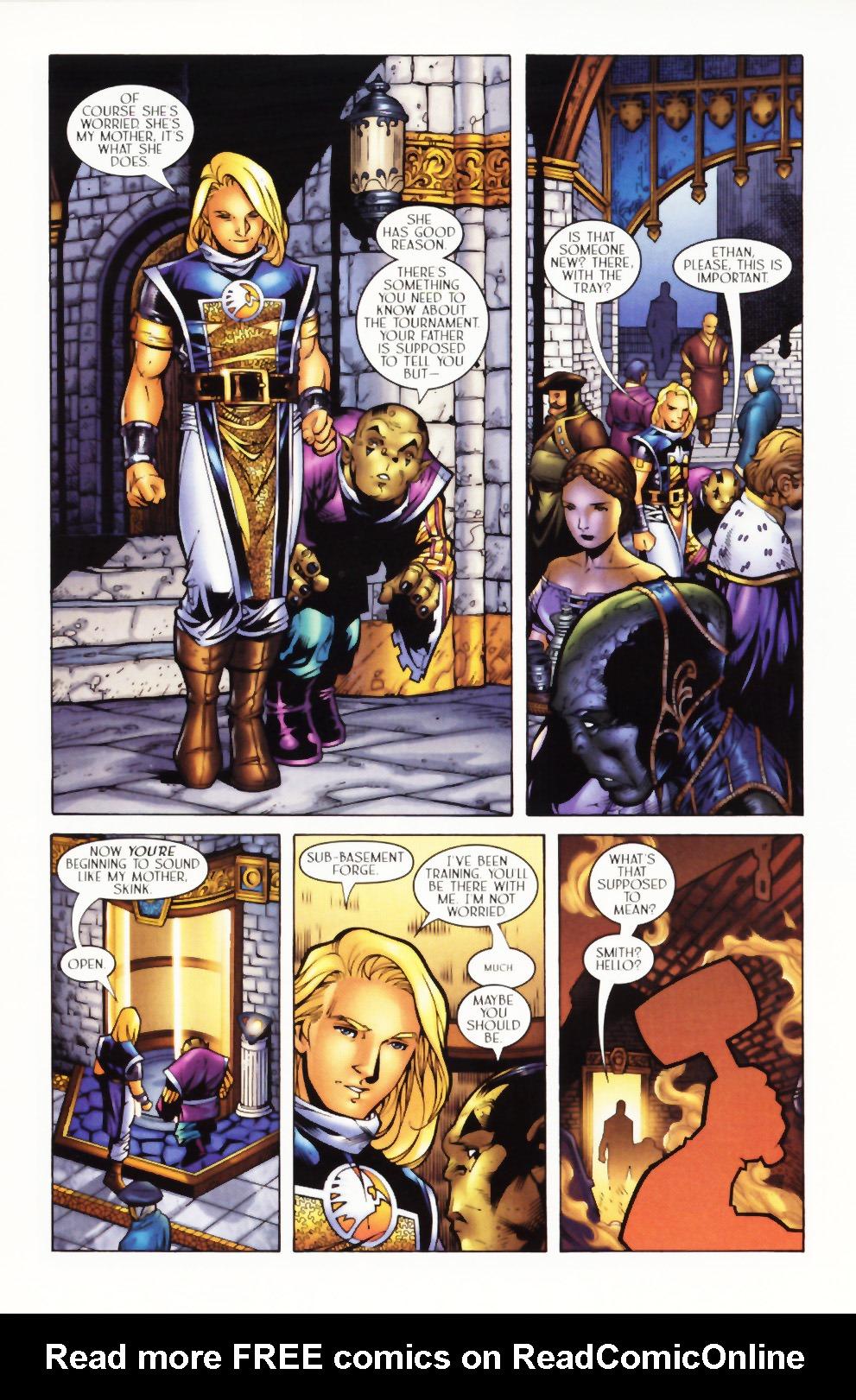 Read online Scion comic -  Issue #1 - 10