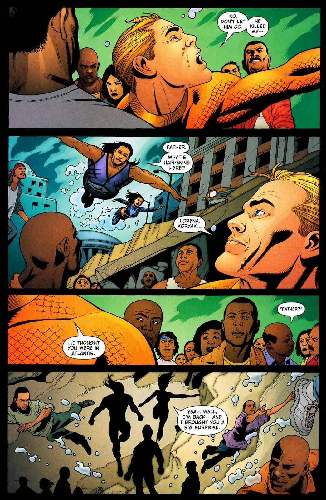 Aquaman (2003) Issue #33 #33 - English 13