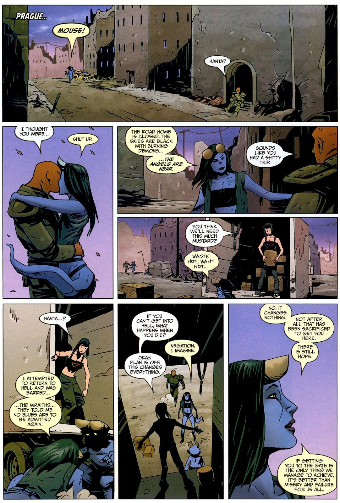 Strange Girl Issue #17 #18 - English 14