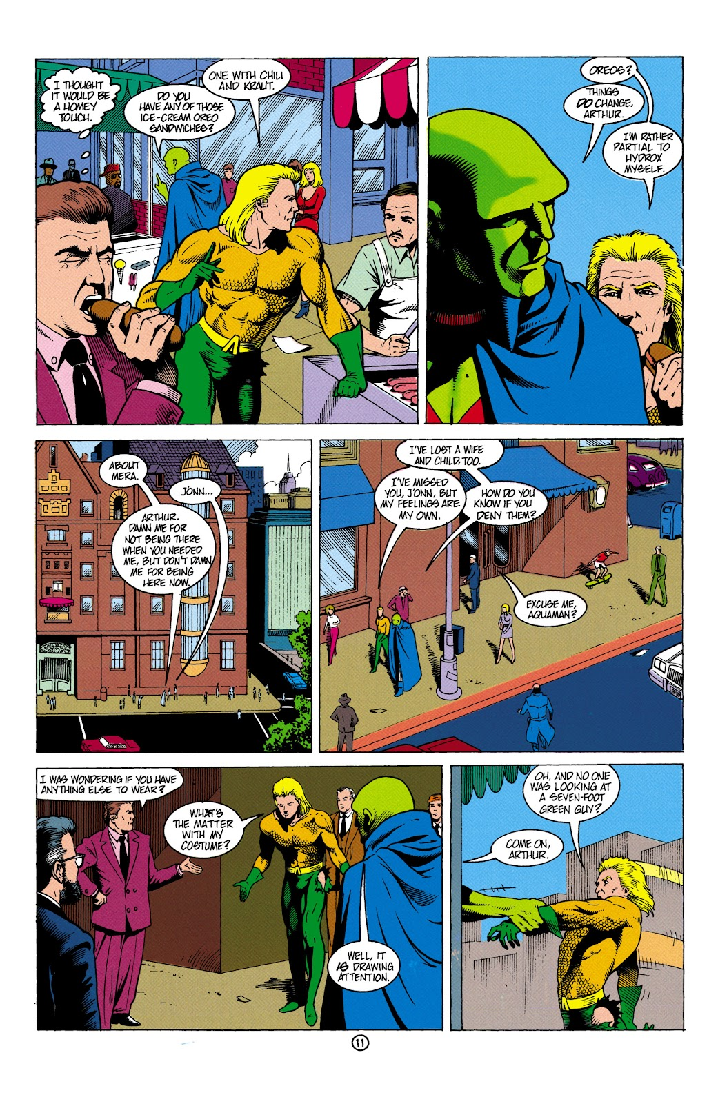Aquaman (1991) Issue #5 #5 - English 12