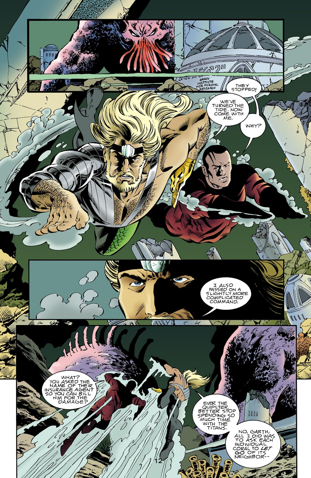 Aquaman (1994) Issue #64 #70 - English 12