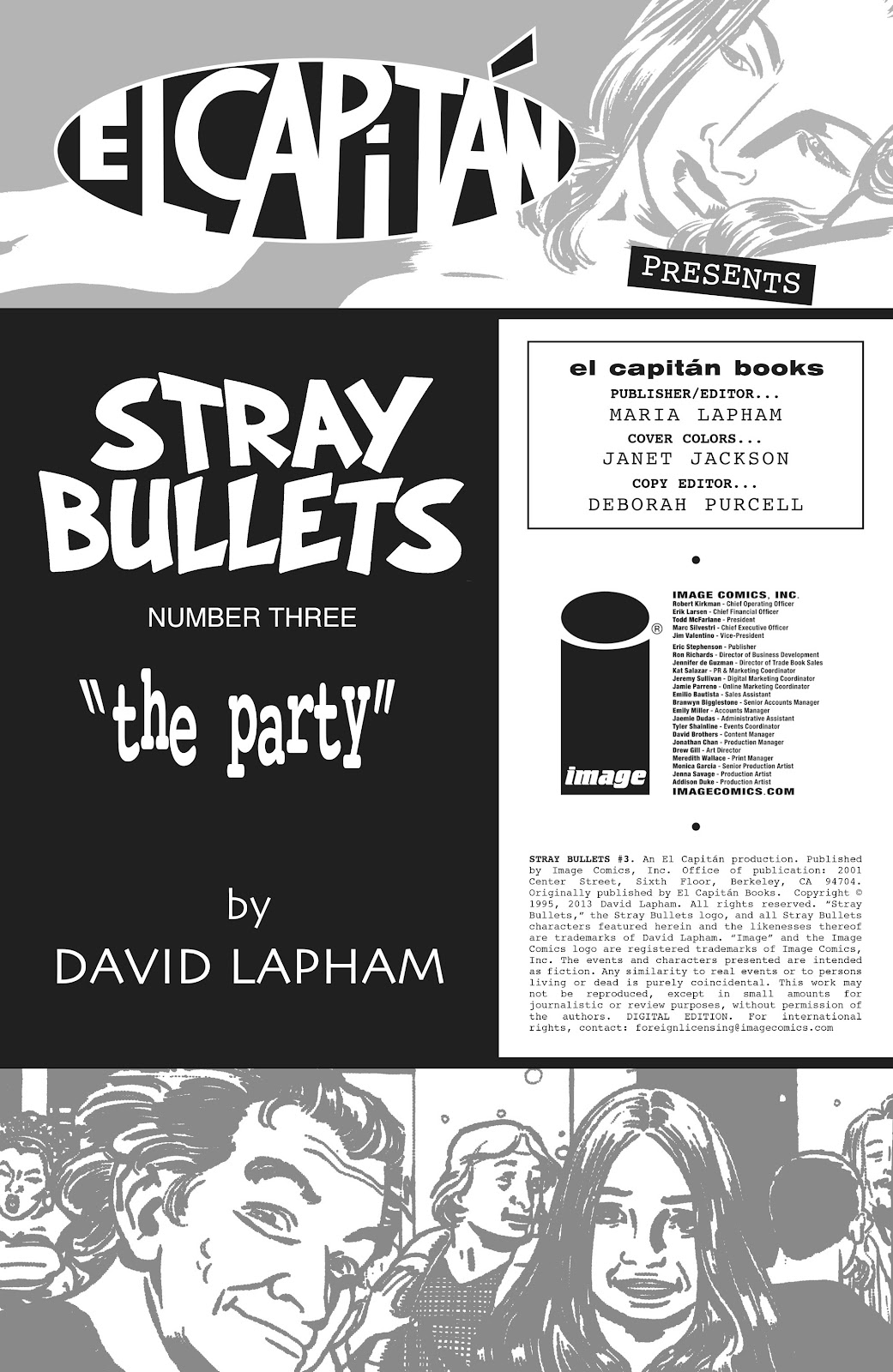 Stray Bullets Issue #3 #3 - English 2