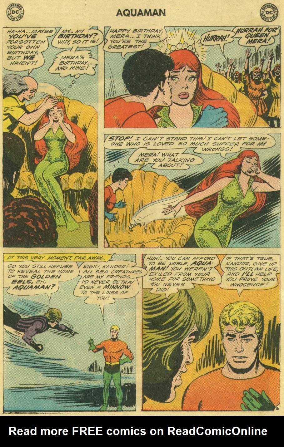 Read online Aquaman (1962) comic -  Issue #22 - 21