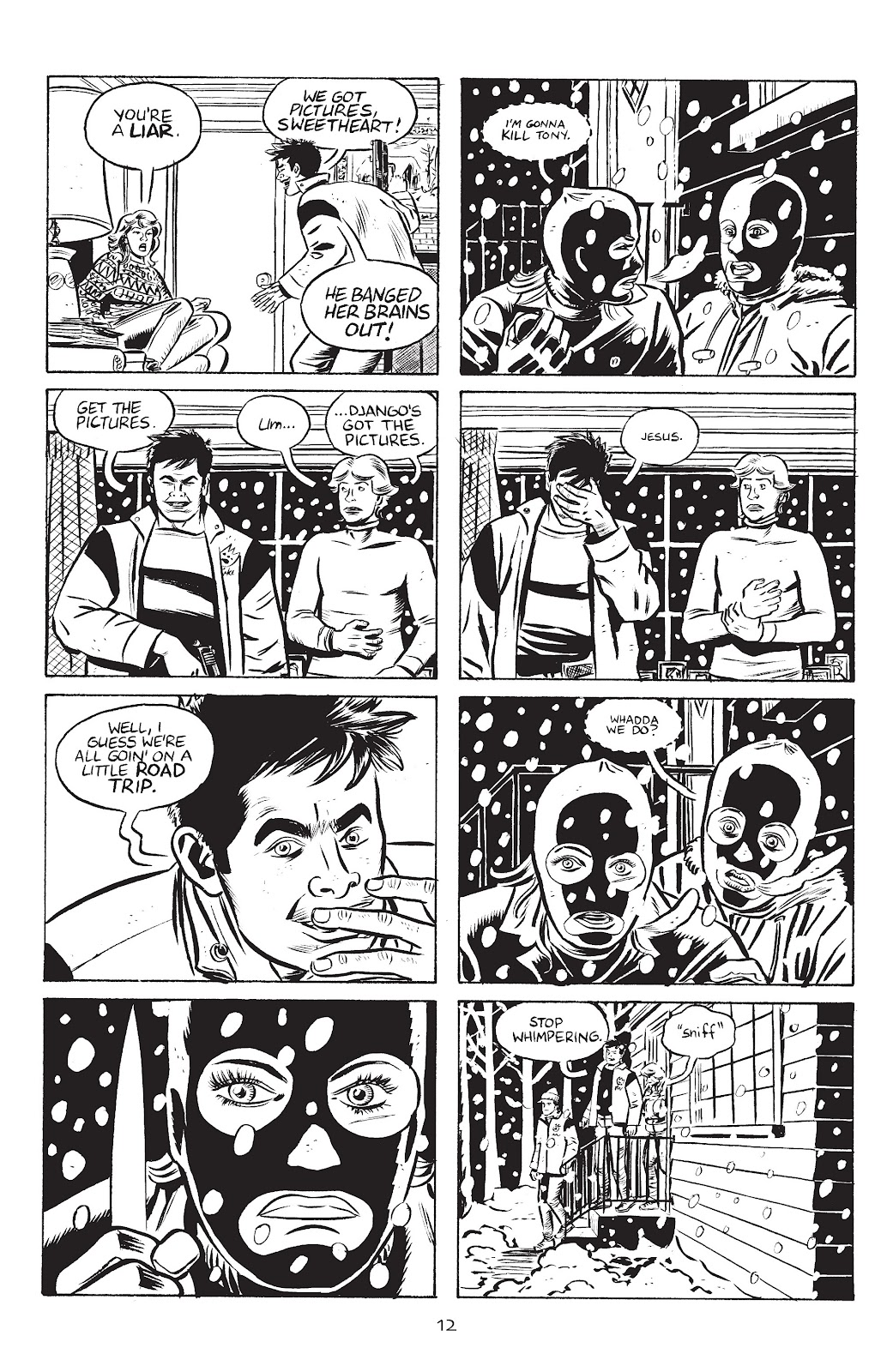 Stray Bullets Issue #38 #38 - English 14