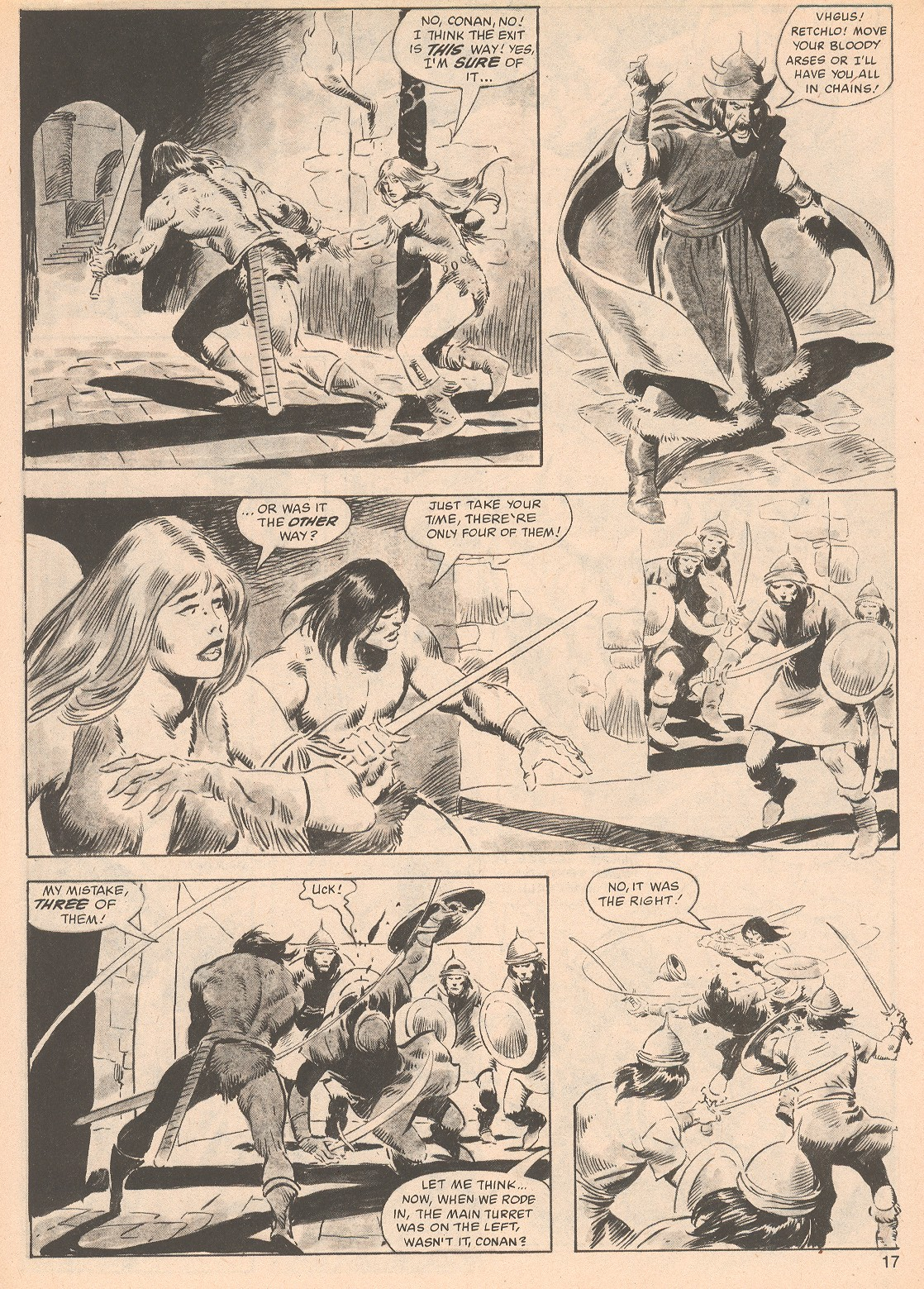 The Savage Sword Of Conan Issue #70 #71 - English 17