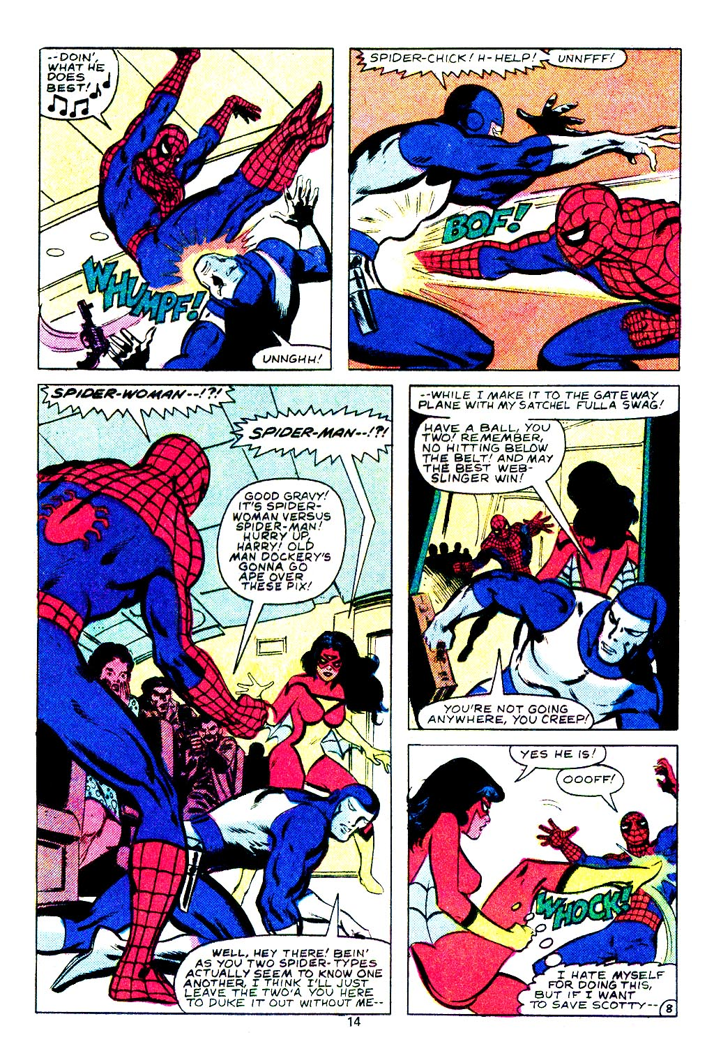 Spider-Woman (1978) Issue #29 #29 - English 9