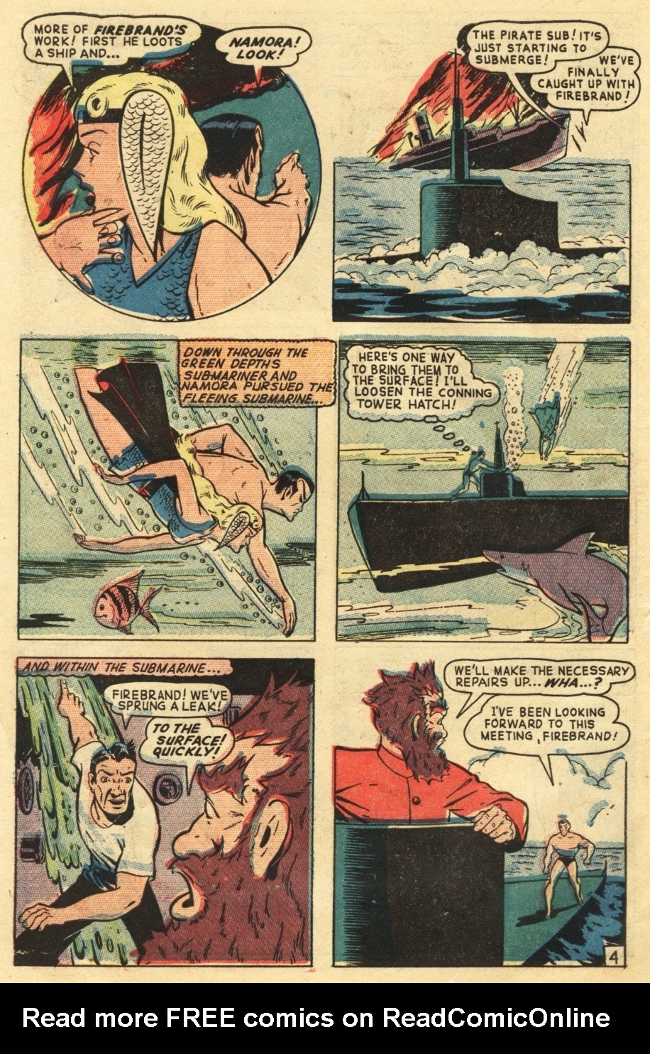 Sub-Mariner Comics #25 #25 - English 6