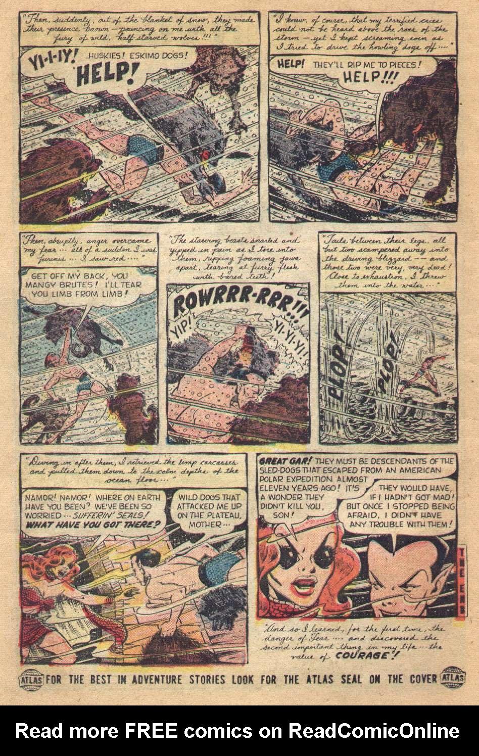 Sub-Mariner Comics #36 #36 - English 14