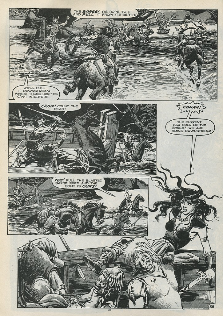 The Savage Sword Of Conan Issue #179 #180 - English 40