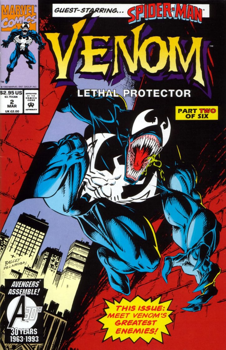 Read online Venom: Lethal Protector comic -  Issue #2 - 1