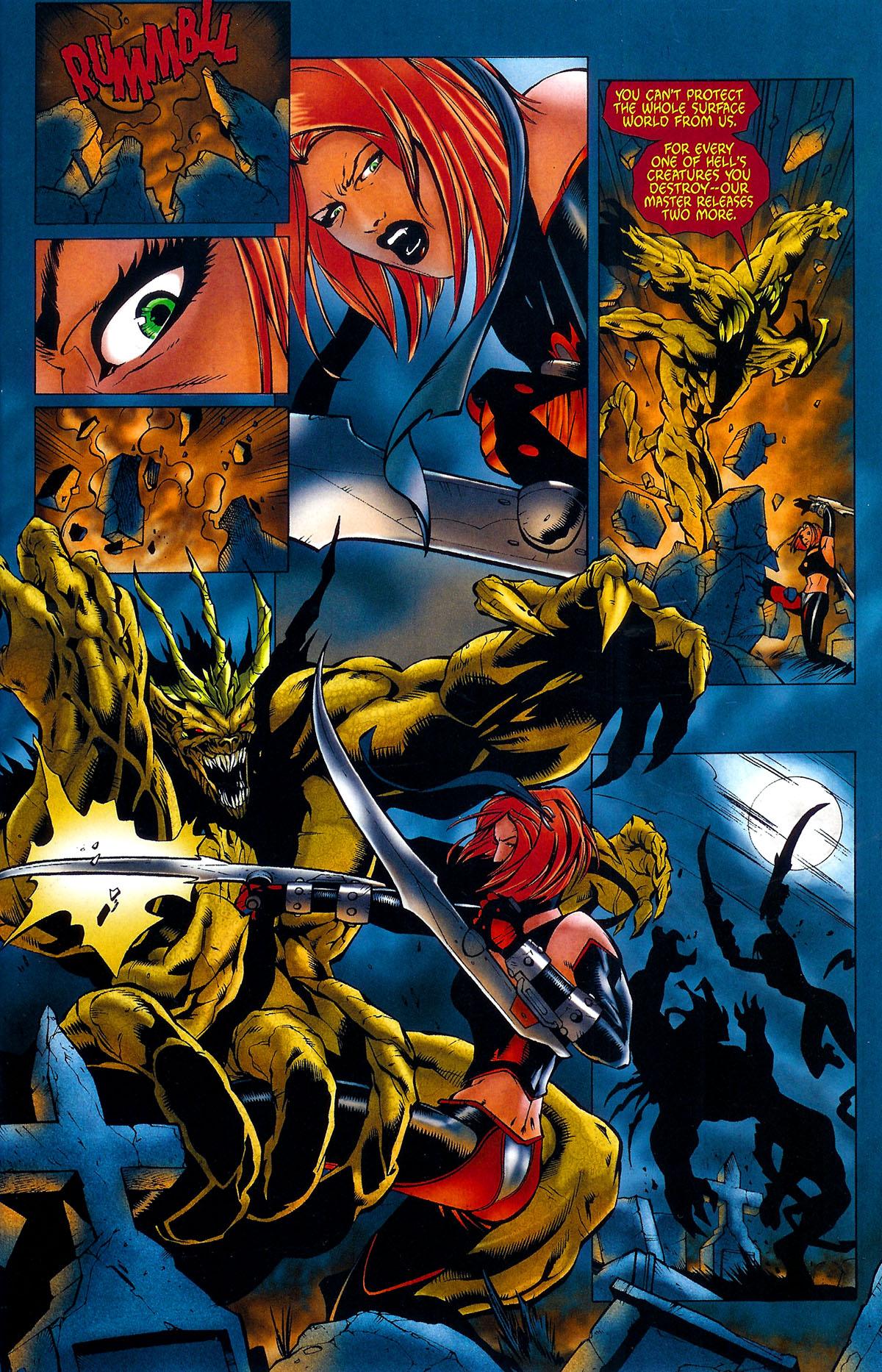 Read online BloodRayne: Dark Soul comic -  Issue # Full - 6