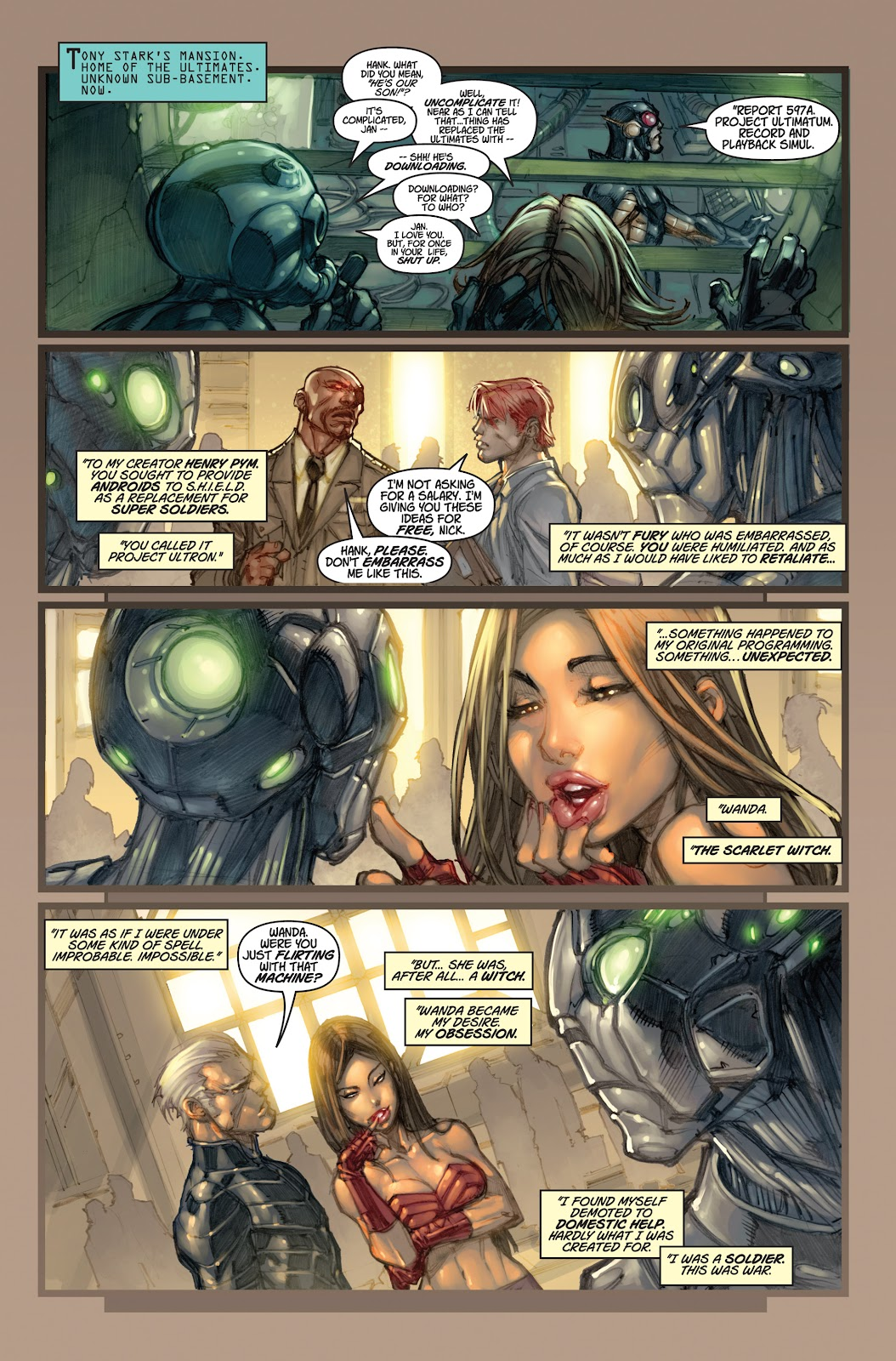 Ultimates 3 Issue #5 #5 - English 4