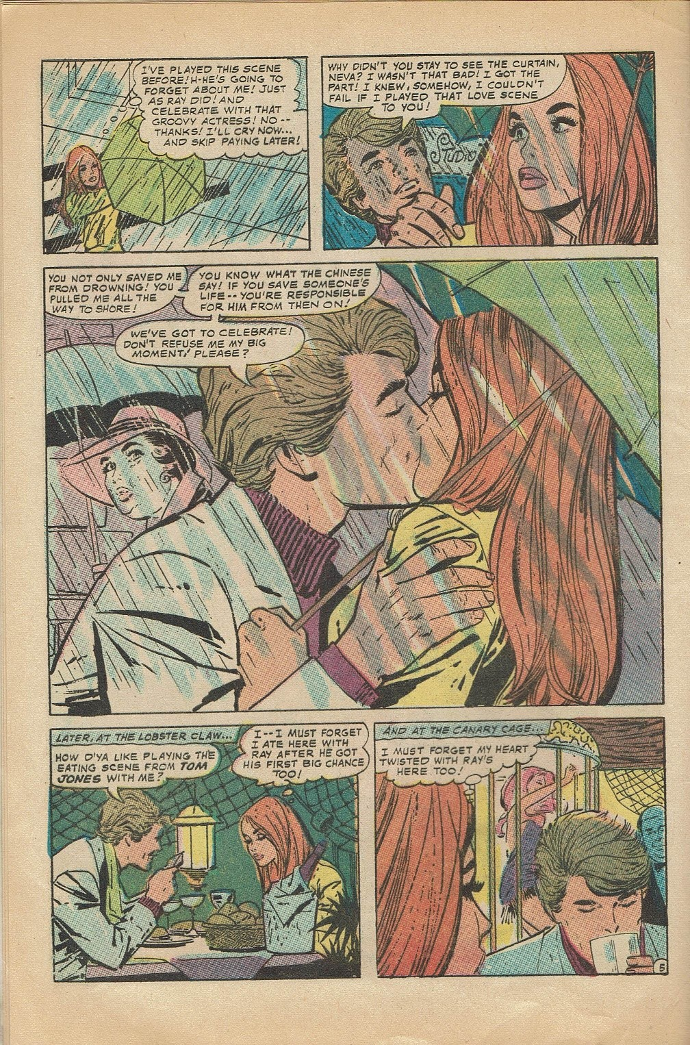 Read online Secret Hearts comic -  Issue #144 - 8