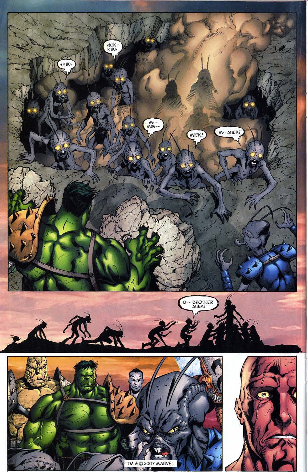 Read online The Incredible Hulk (2000) comic -  Issue #96 - 32